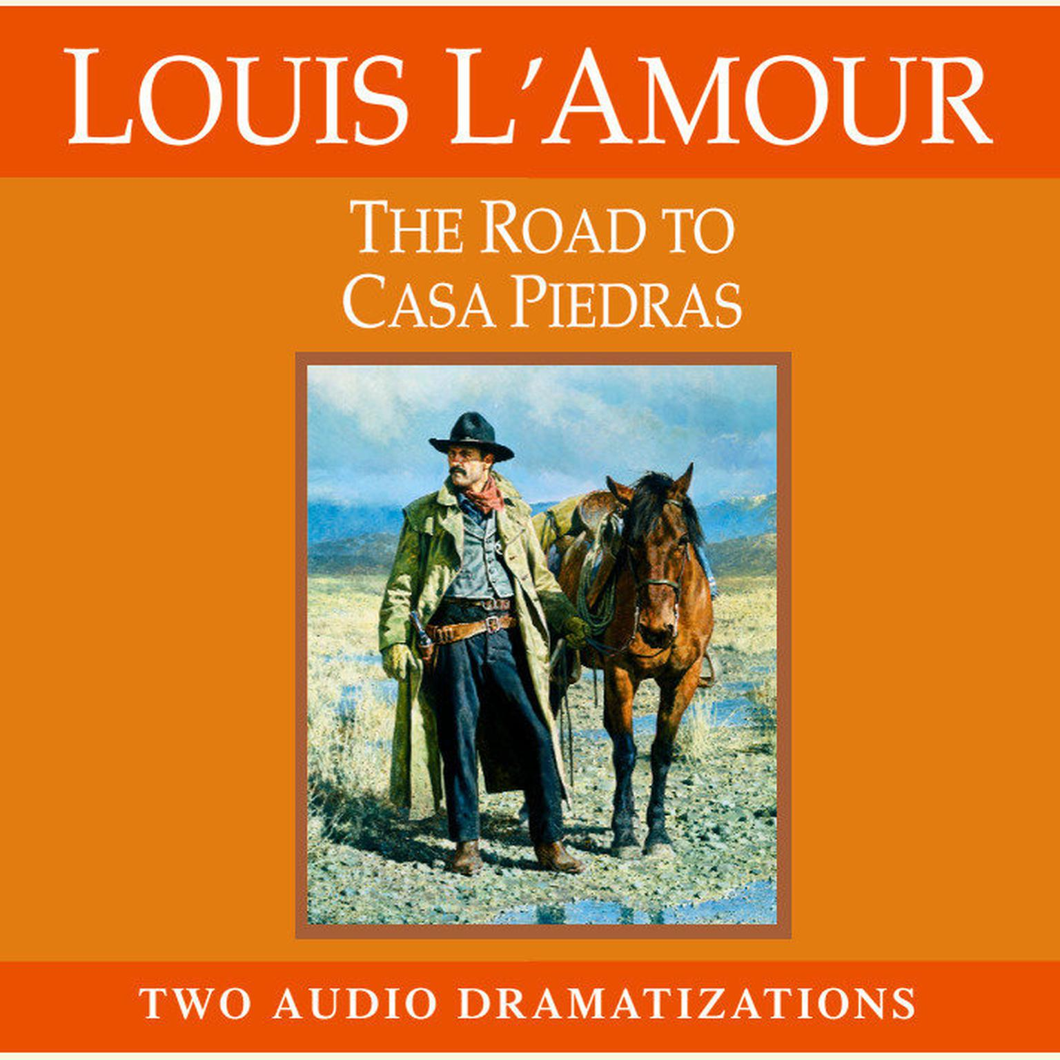 Printable The Road to Casa Piedras Audiobook Cover Art