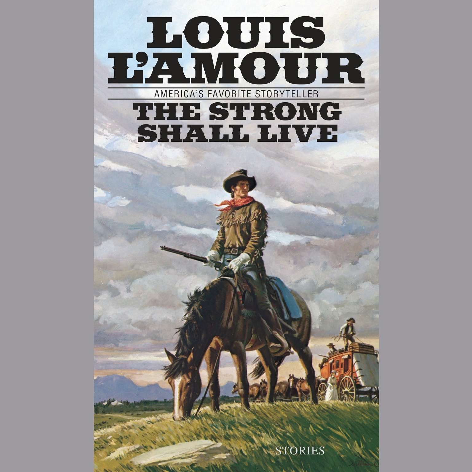 Printable The Strong Shall Live Audiobook Cover Art