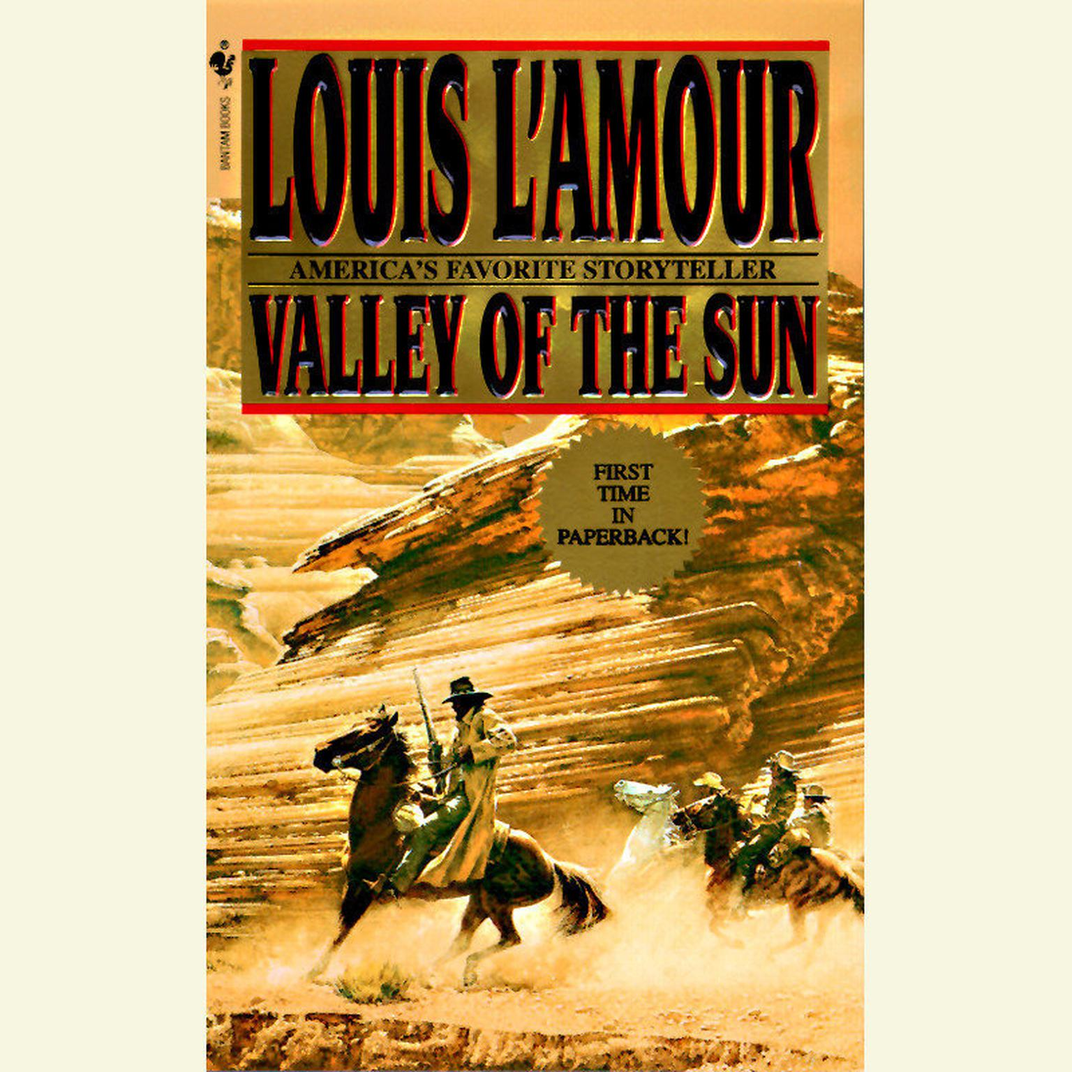 Printable Valley of the Sun Audiobook Cover Art