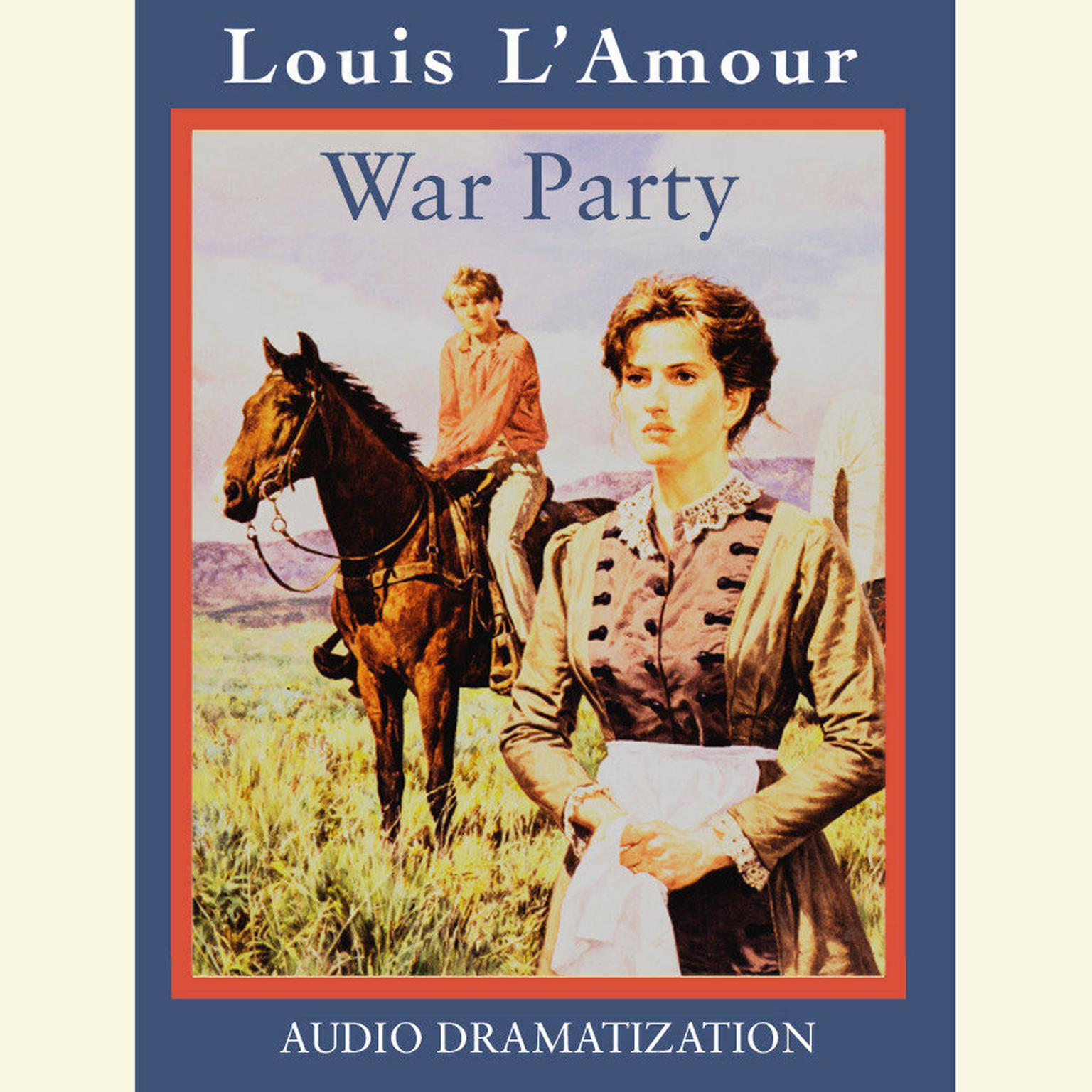 Printable War Party Audiobook Cover Art