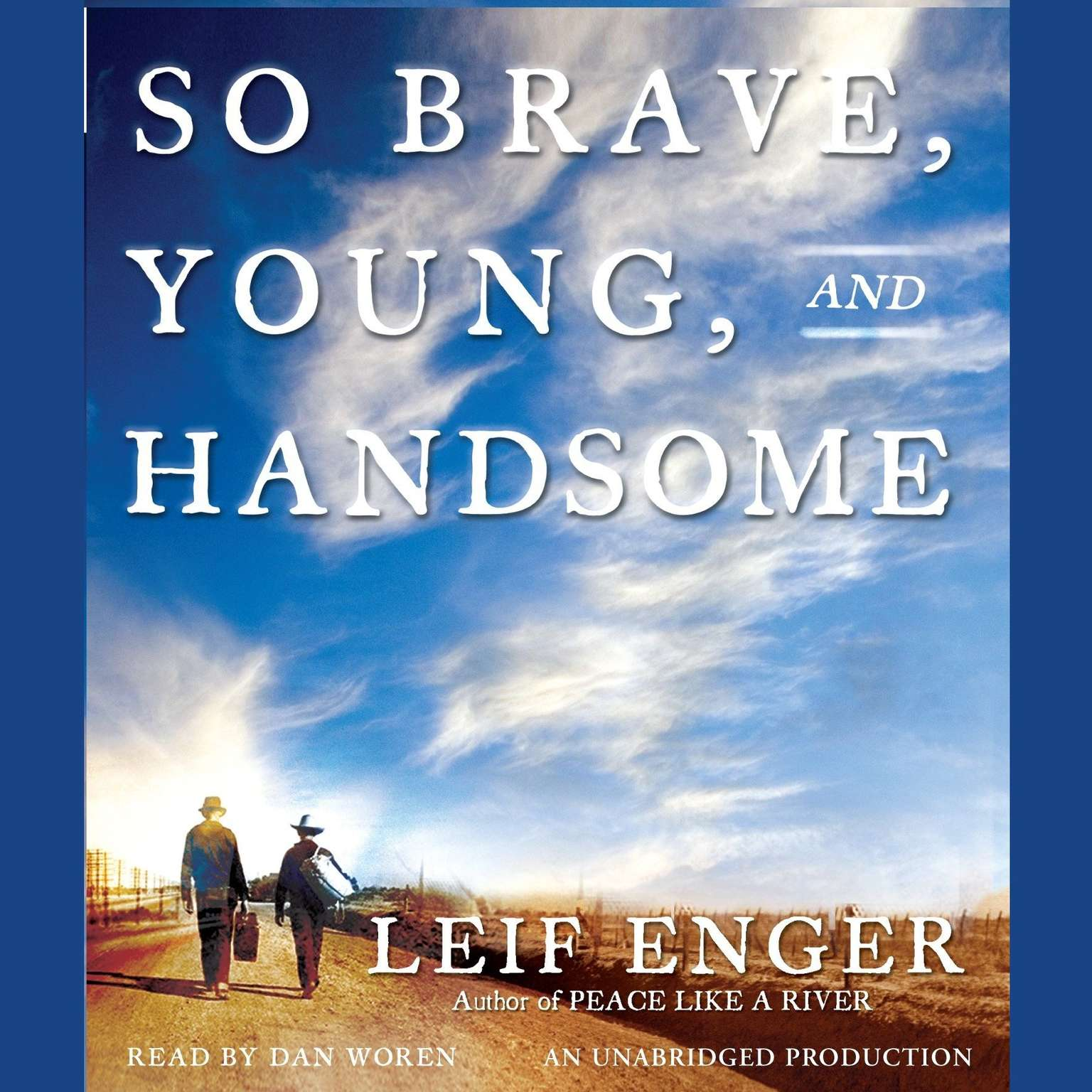 Printable So Brave, Young, and Handsome Audiobook Cover Art