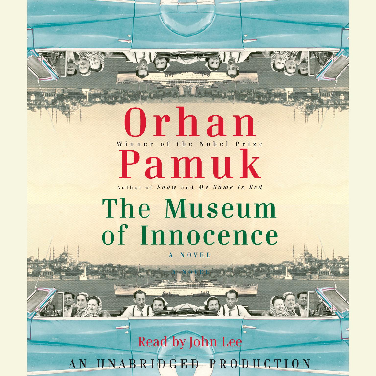 Printable The Museum of Innocence Audiobook Cover Art
