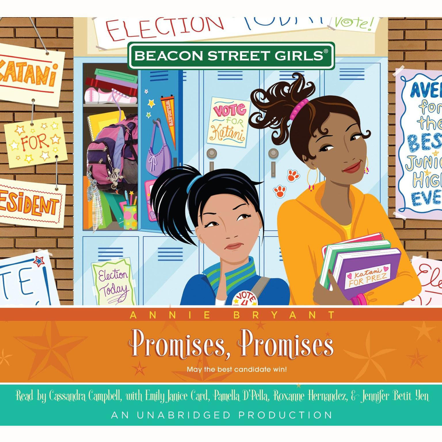 Printable Beacon Street Girls #5: Promises, Promises Audiobook Cover Art