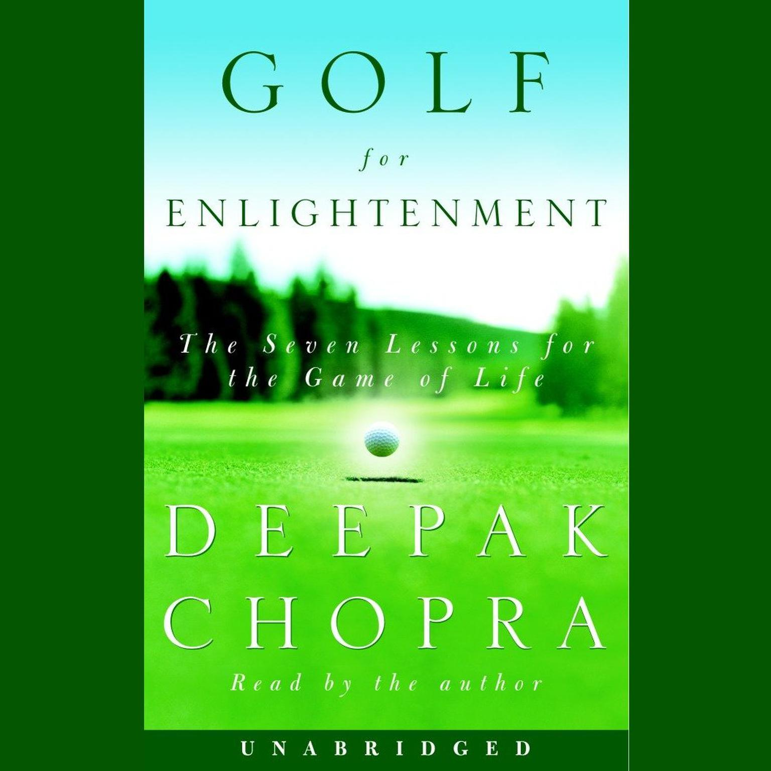 Printable Golf for Enlightenment: Seven Lessons for the Game of Life Audiobook Cover Art