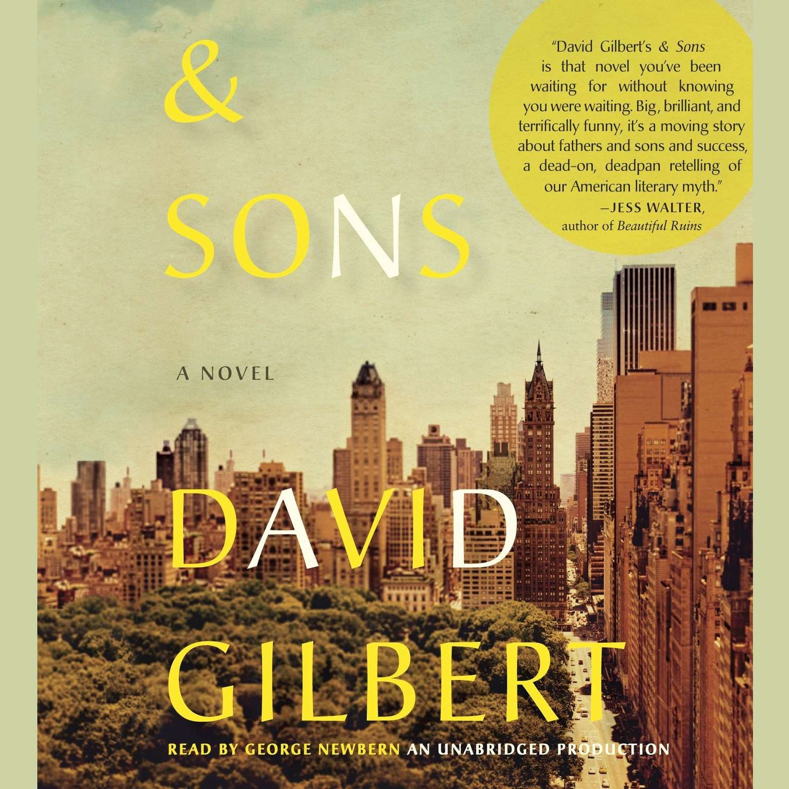 Printable And Sons: A Novel Audiobook Cover Art