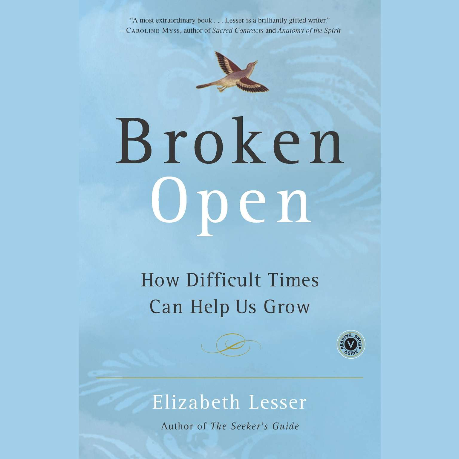 Printable Broken Open: How Difficult Times Can Help Us Grow Audiobook Cover Art