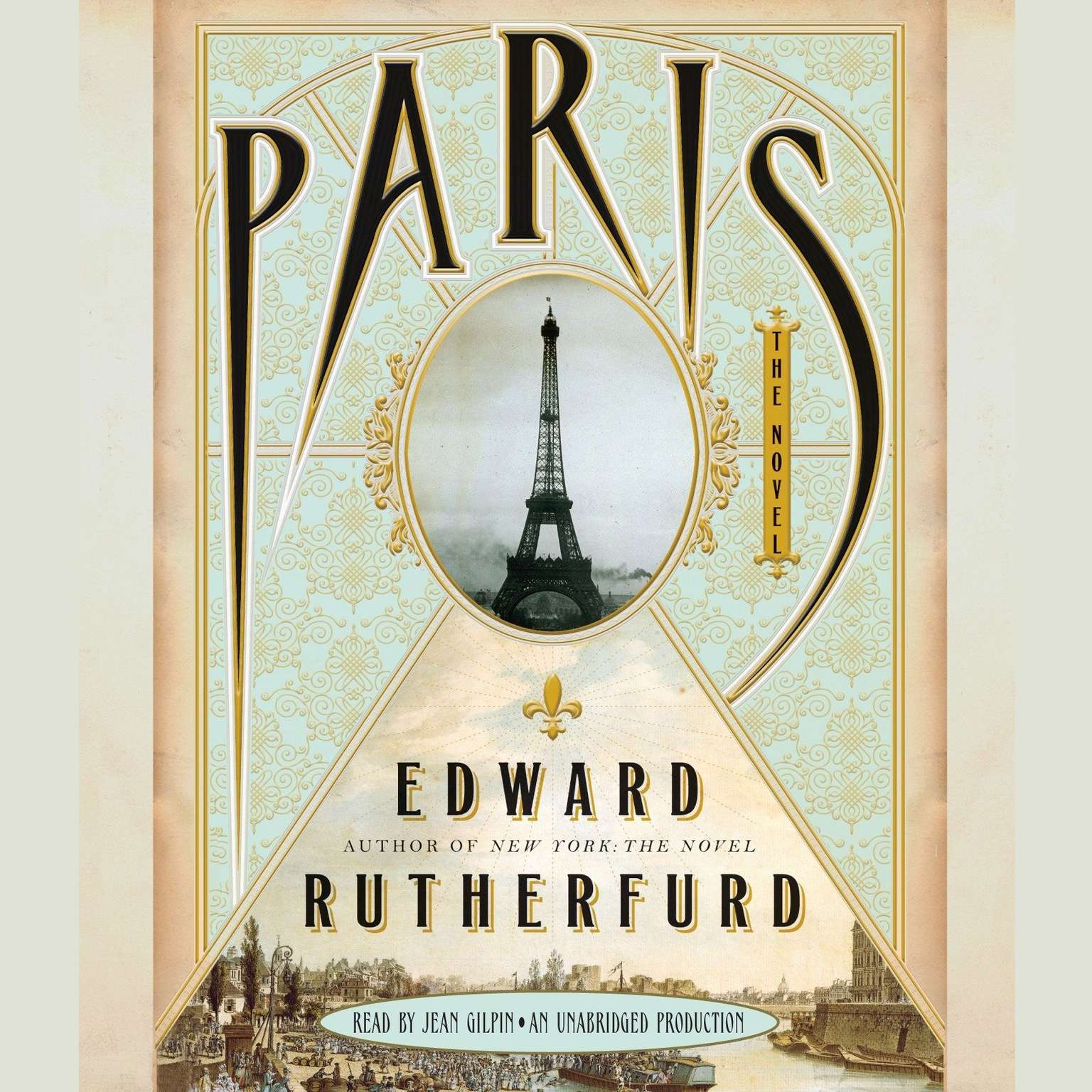 Printable Paris: The Novel Audiobook Cover Art