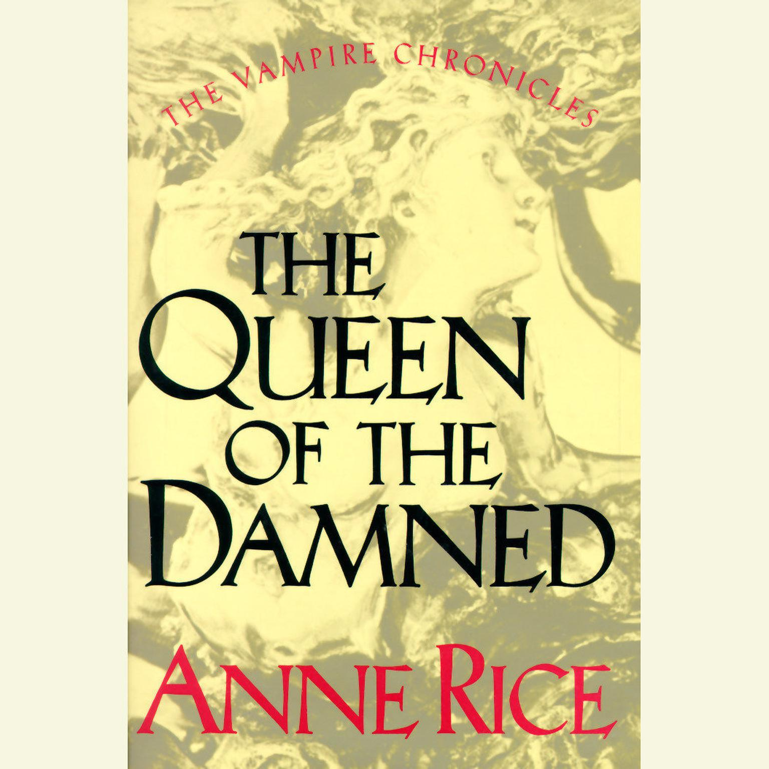 Printable The Queen of the Damned Audiobook Cover Art