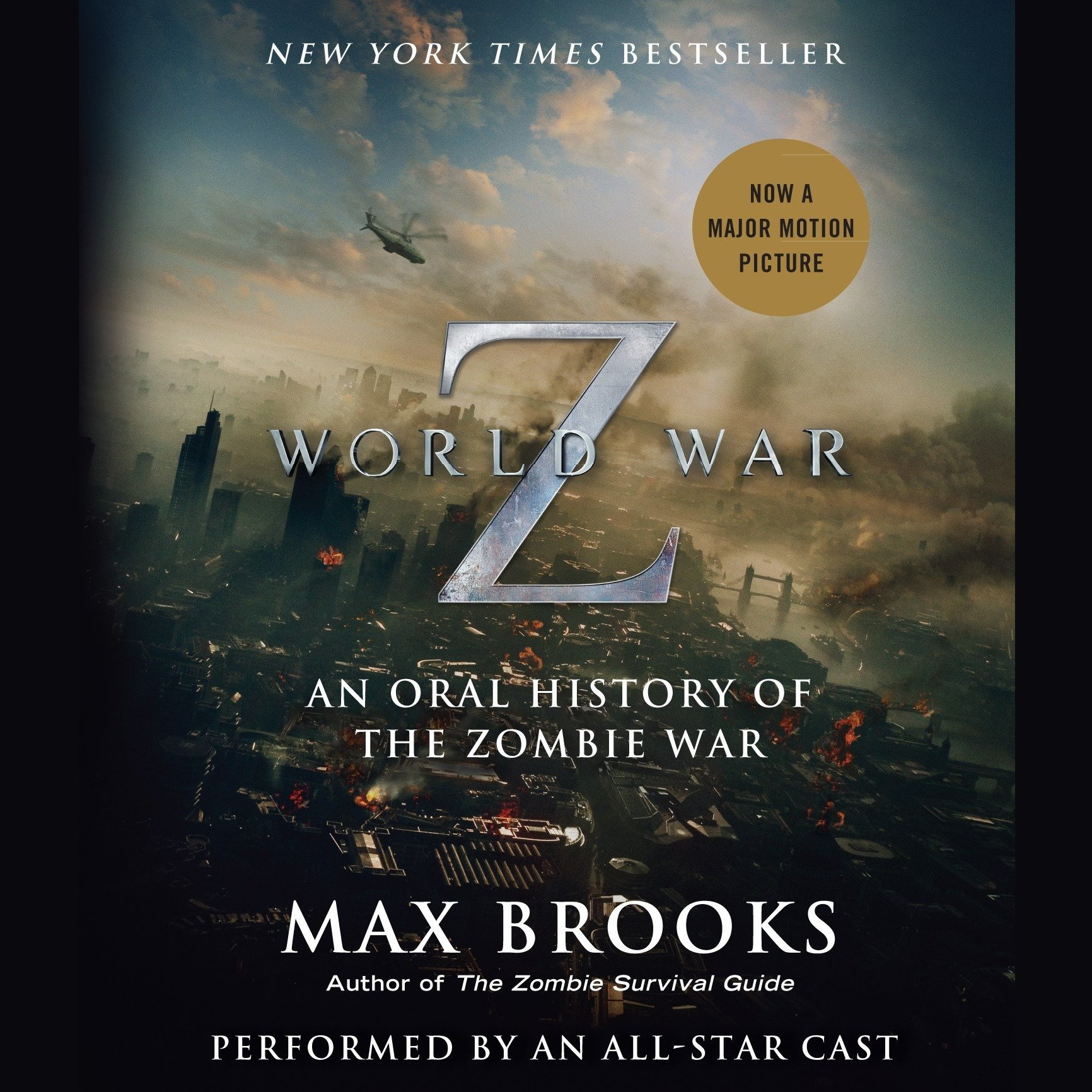 Printable World War Z: The Complete Edition (Movie Tie-In Edition): An Oral History of the Zombie War Audiobook Cover Art