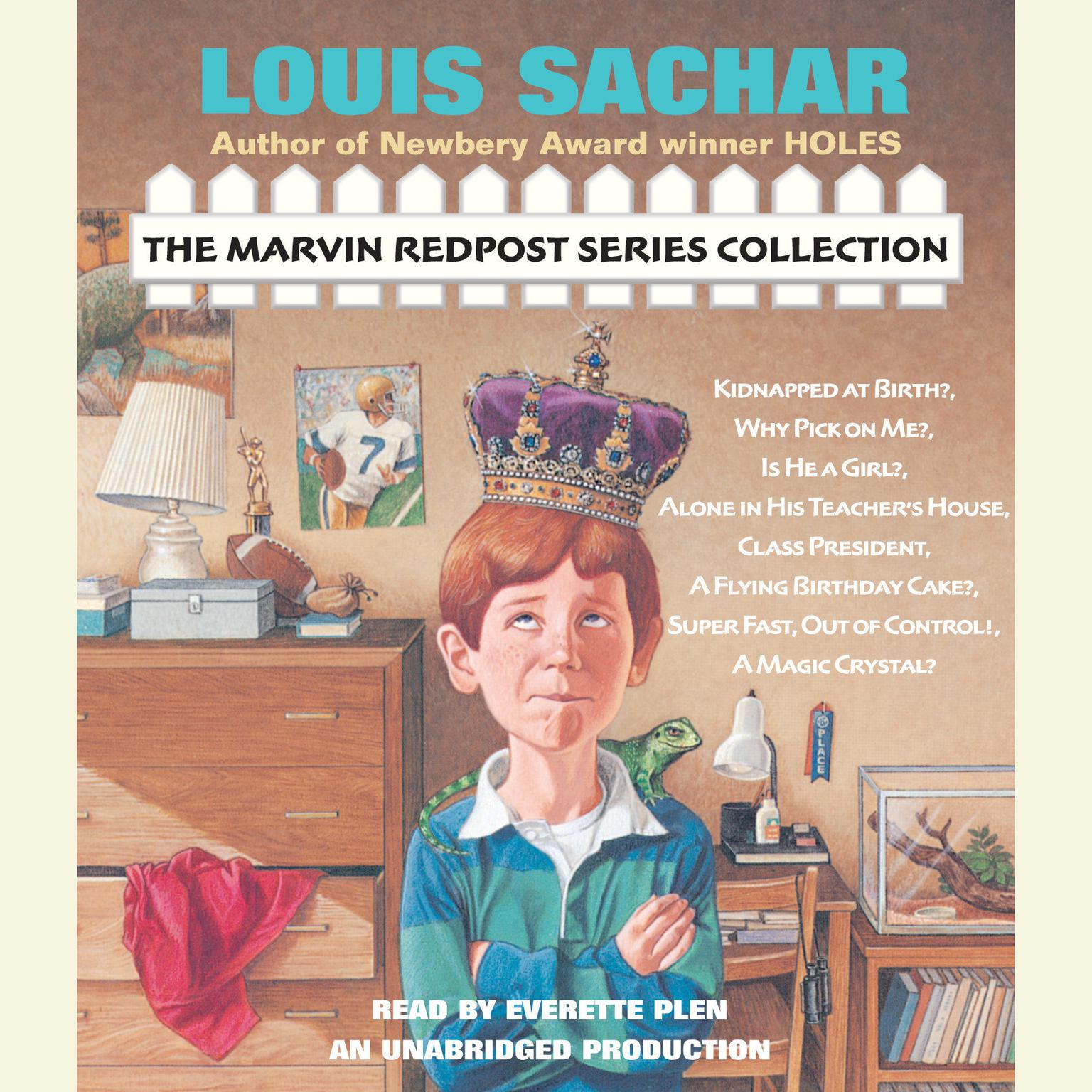 Printable The Marvin Redpost Series Collection Audiobook Cover Art