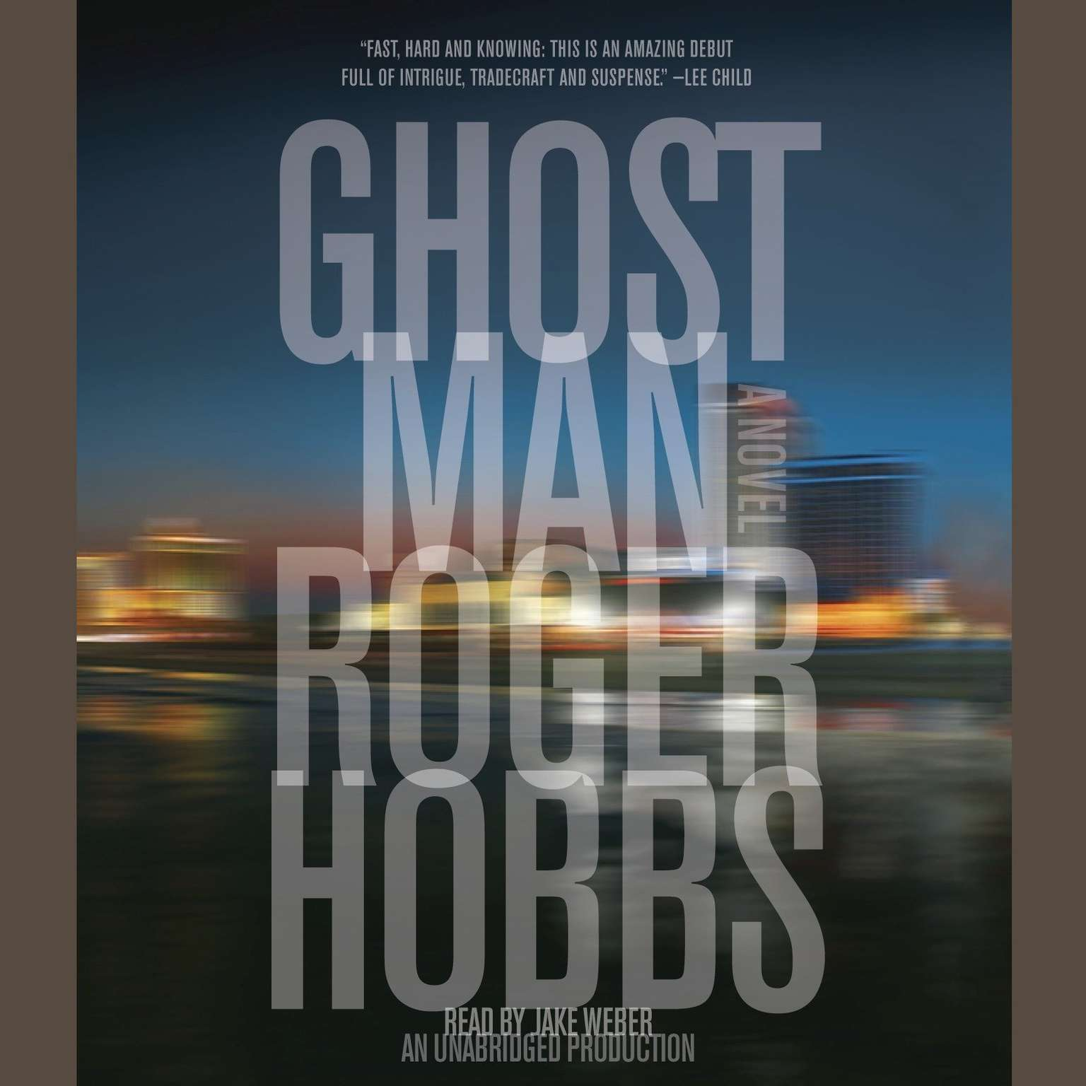 Printable Ghostman Audiobook Cover Art