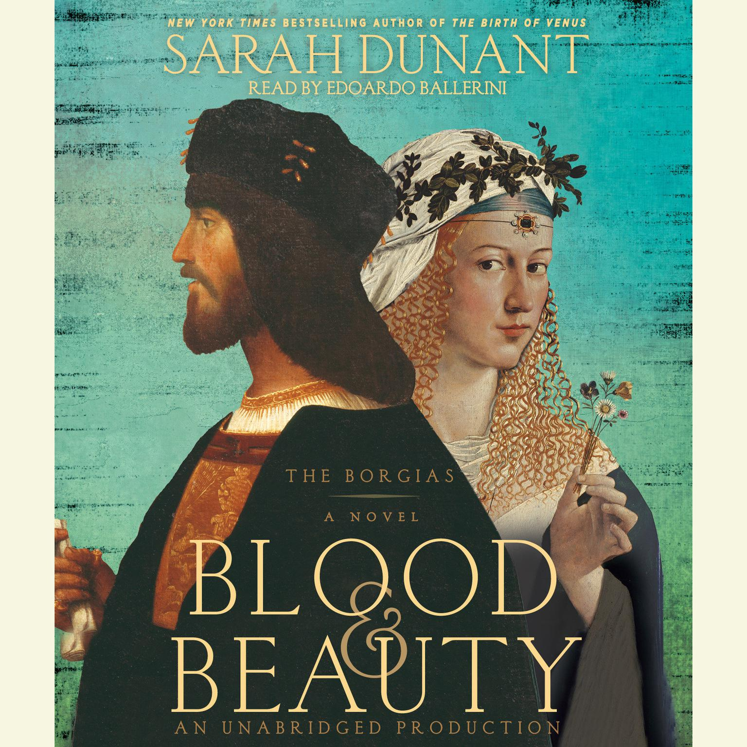 Printable Blood & Beauty: The Borgias; A Novel Audiobook Cover Art