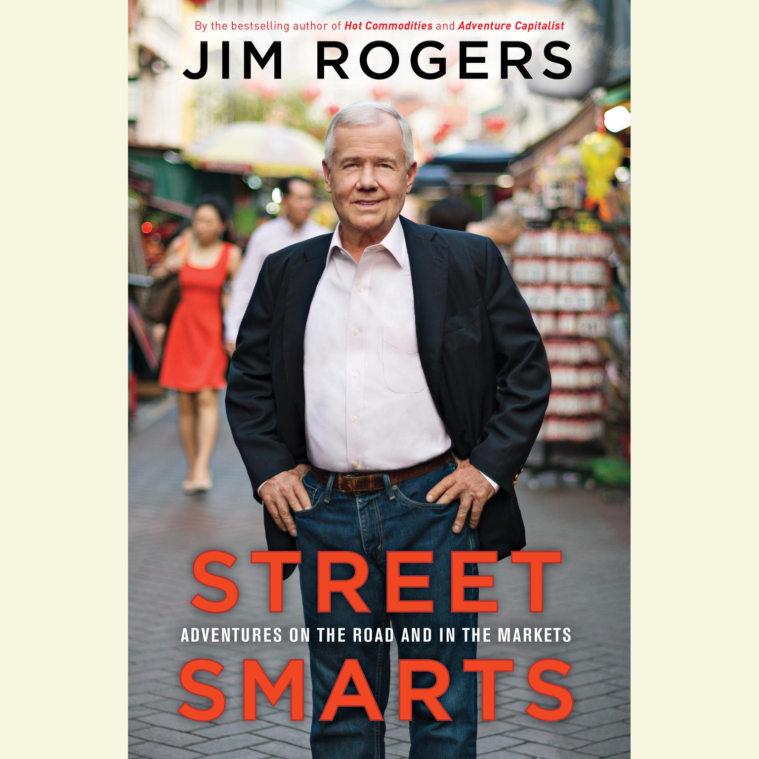 Printable Street Smarts: Adventures on the Road and in the Markets Audiobook Cover Art