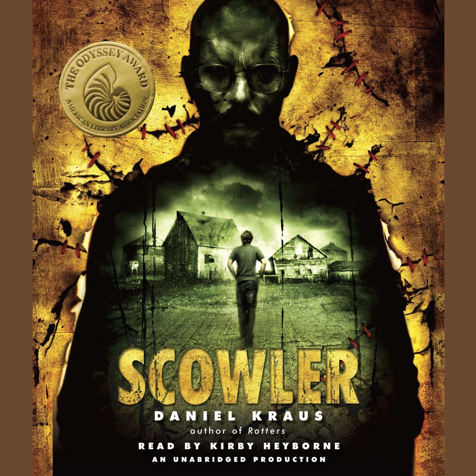 Printable Scowler Audiobook Cover Art