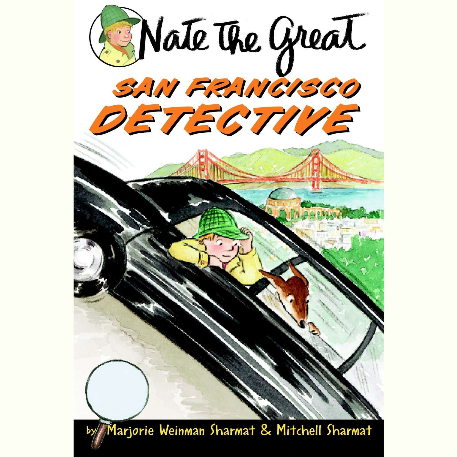 Printable Nate the Great, San Francisco Detective Audiobook Cover Art