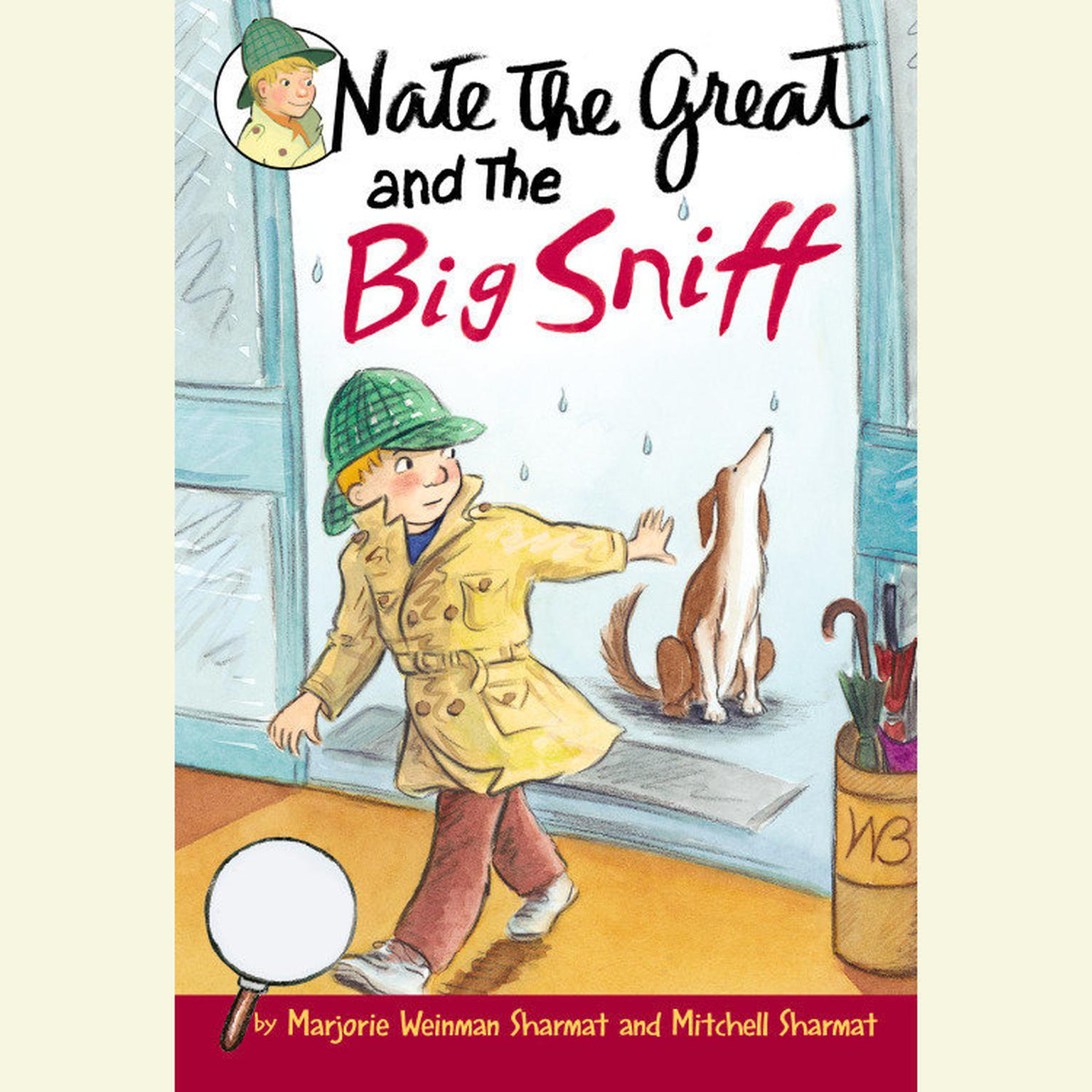 Printable Nate the Great and the Big Sniff Audiobook Cover Art