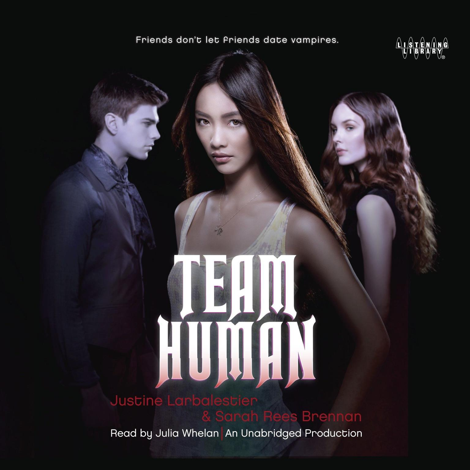 Printable Team Human Audiobook Cover Art