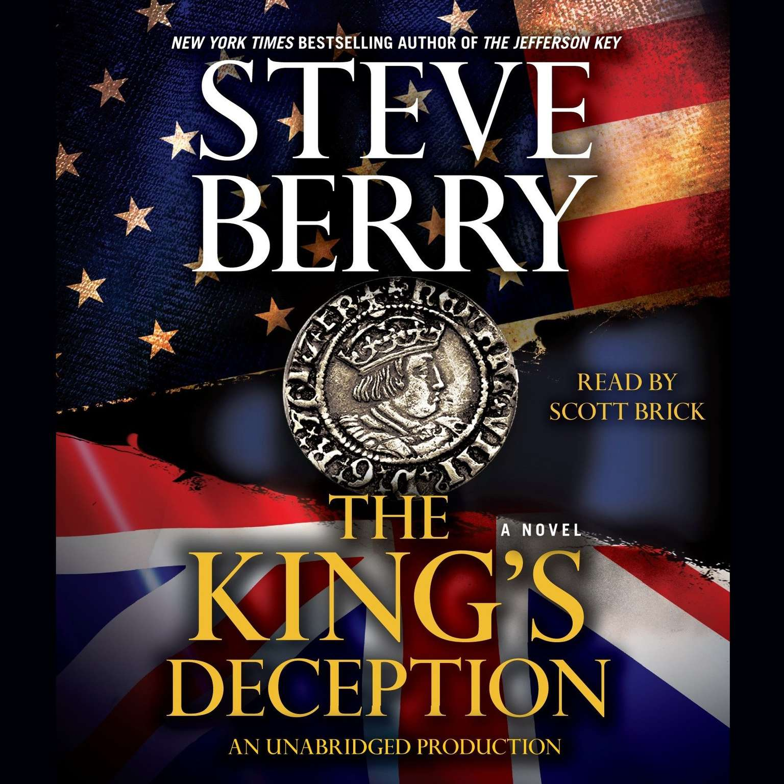 Printable The King's Deception: A Novel Audiobook Cover Art