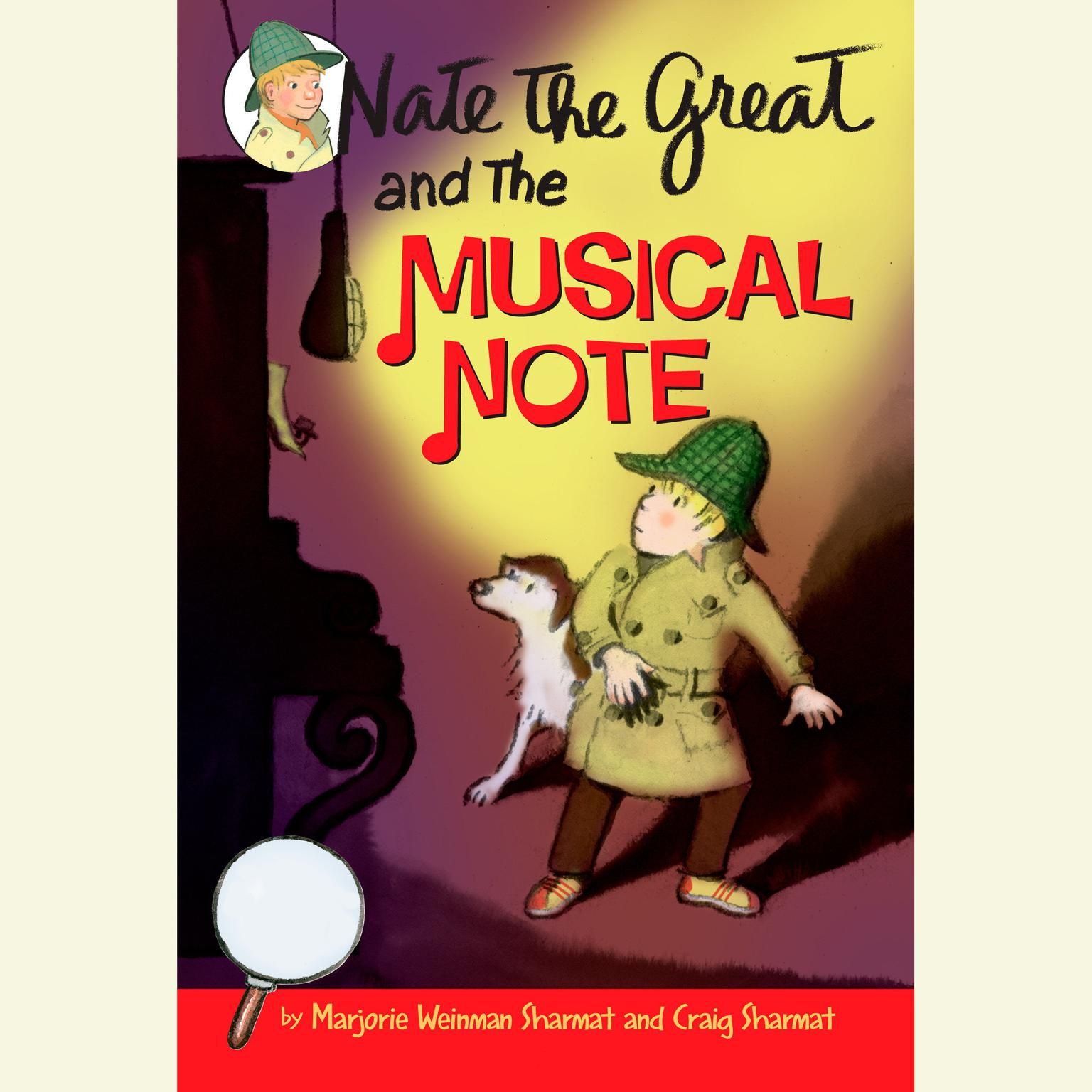 Printable Nate the Great and the Musical Note Audiobook Cover Art