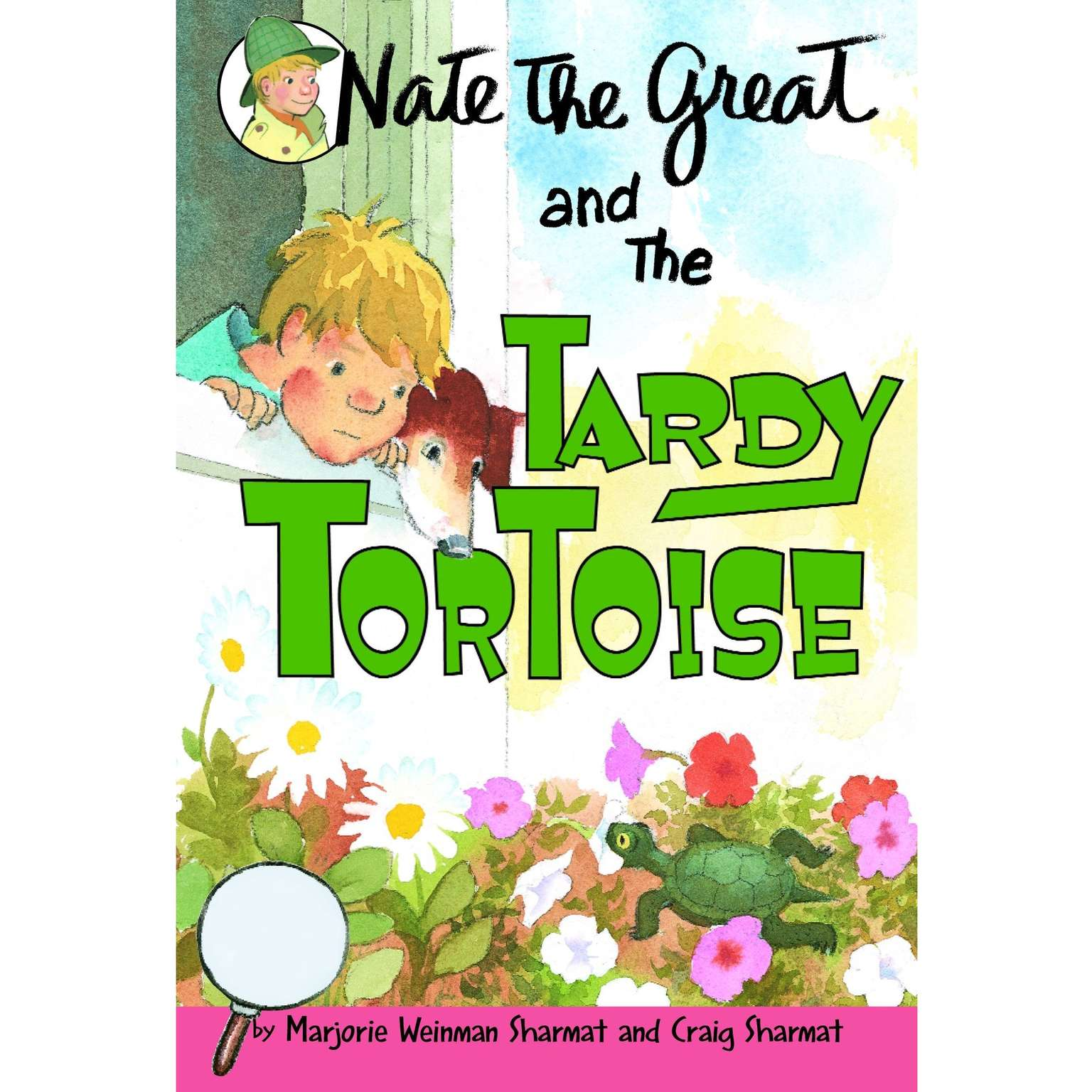 Printable Nate the Great and the Tardy Tortoise Audiobook Cover Art
