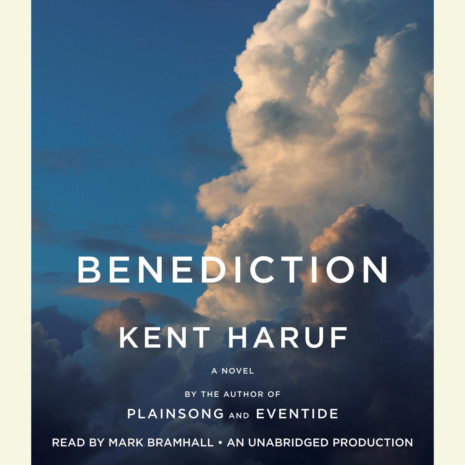 Printable Benediction Audiobook Cover Art