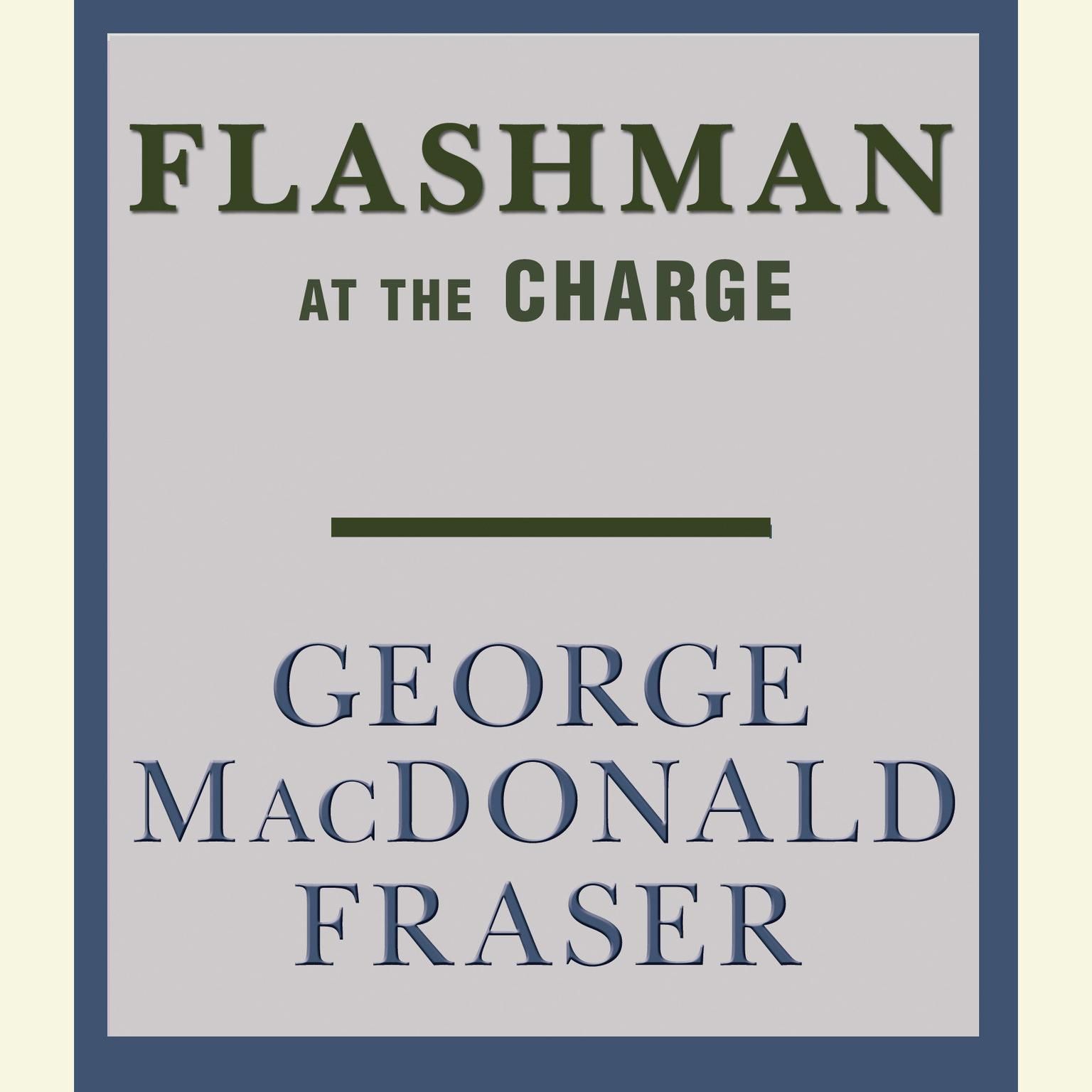 Printable Flashman at the Charge Audiobook Cover Art