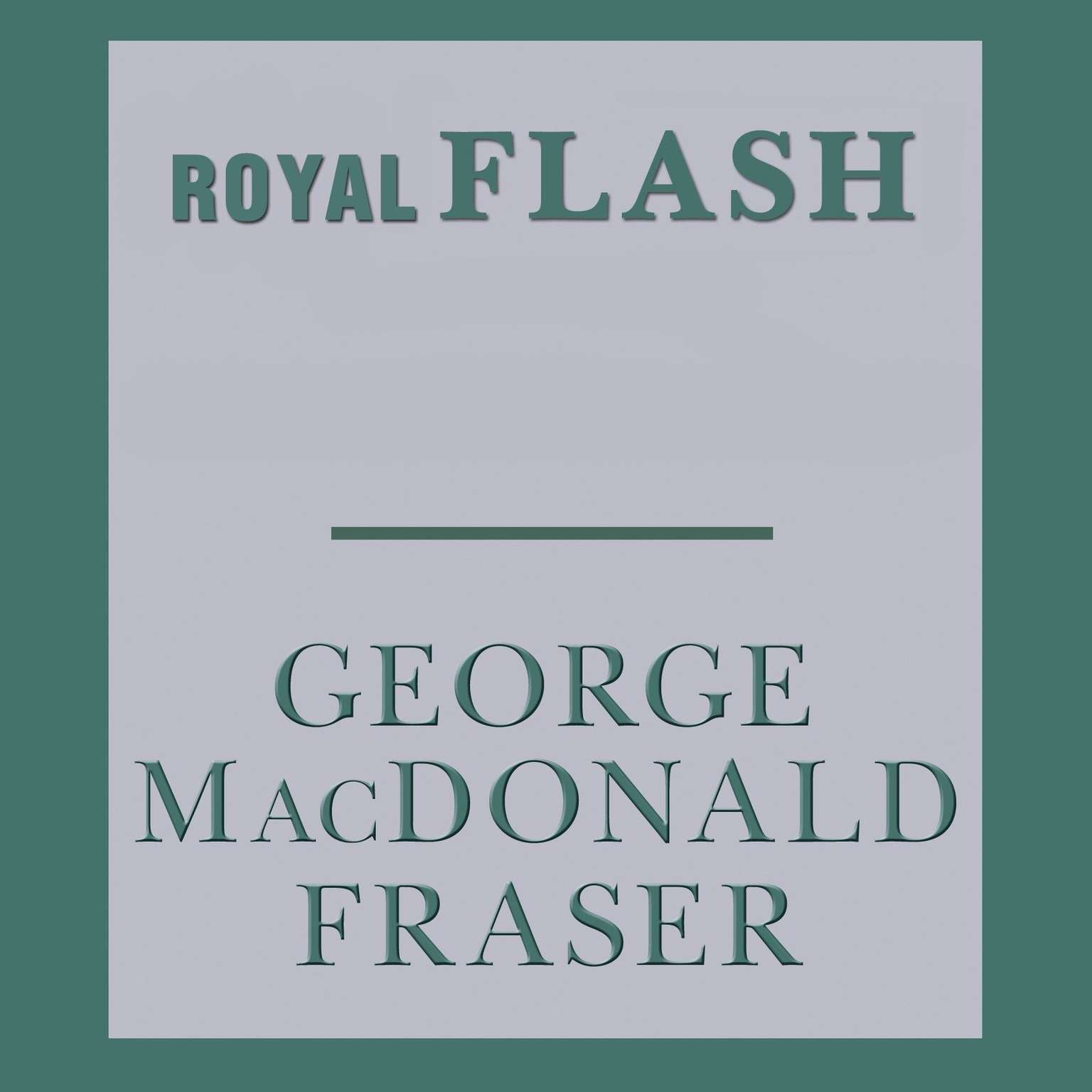 Printable Royal Flash Audiobook Cover Art