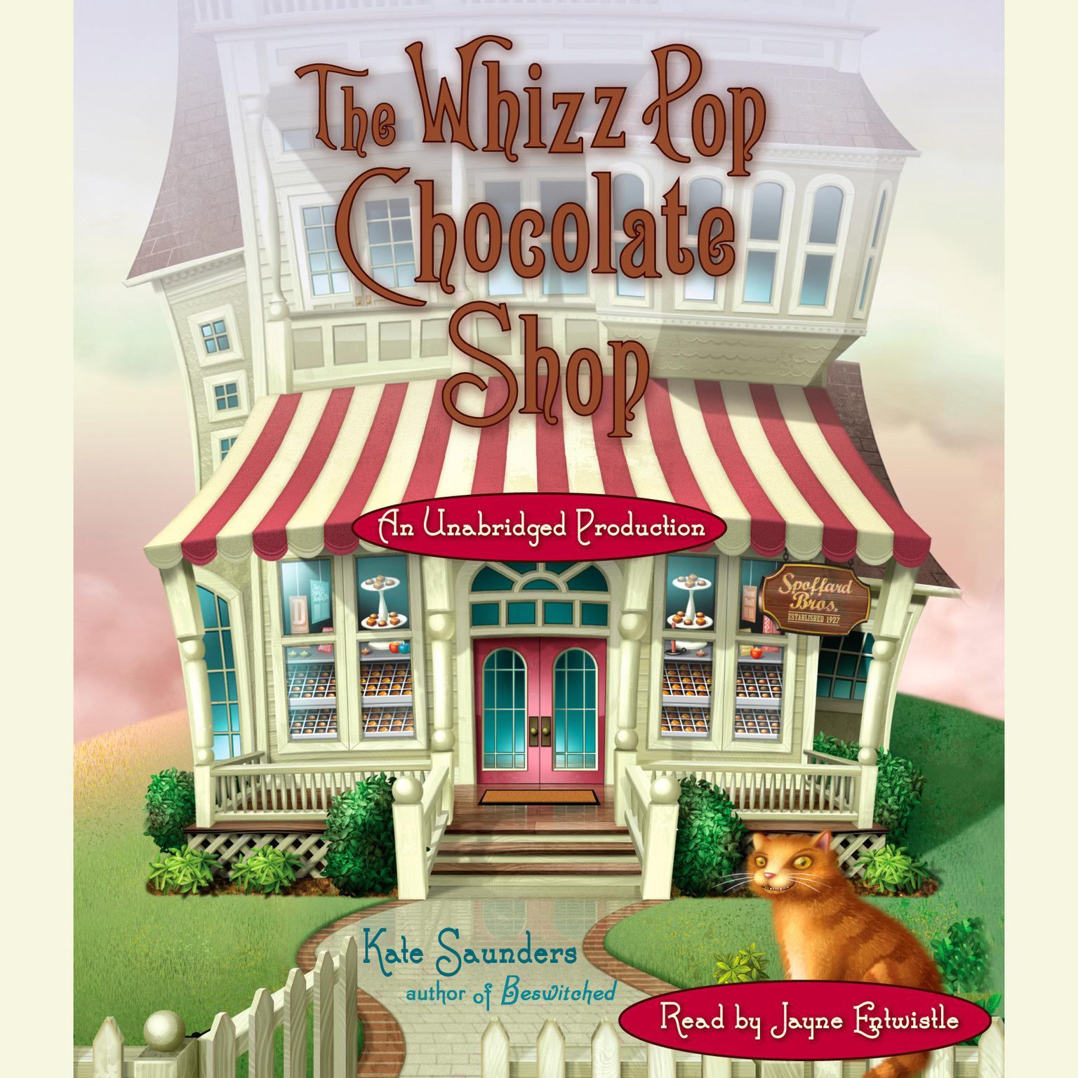 Printable The Whizz Pop Chocolate Shop Audiobook Cover Art