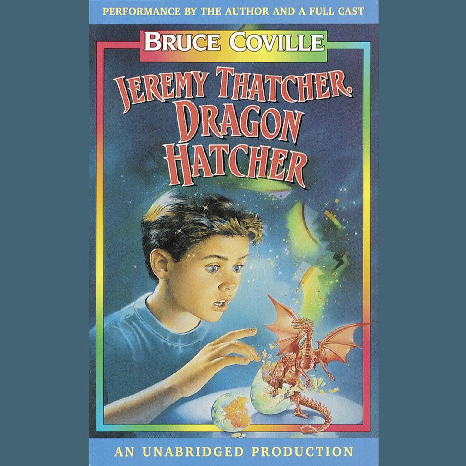 Printable Jeremy Thatcher, Dragon Hatcher Audiobook Cover Art
