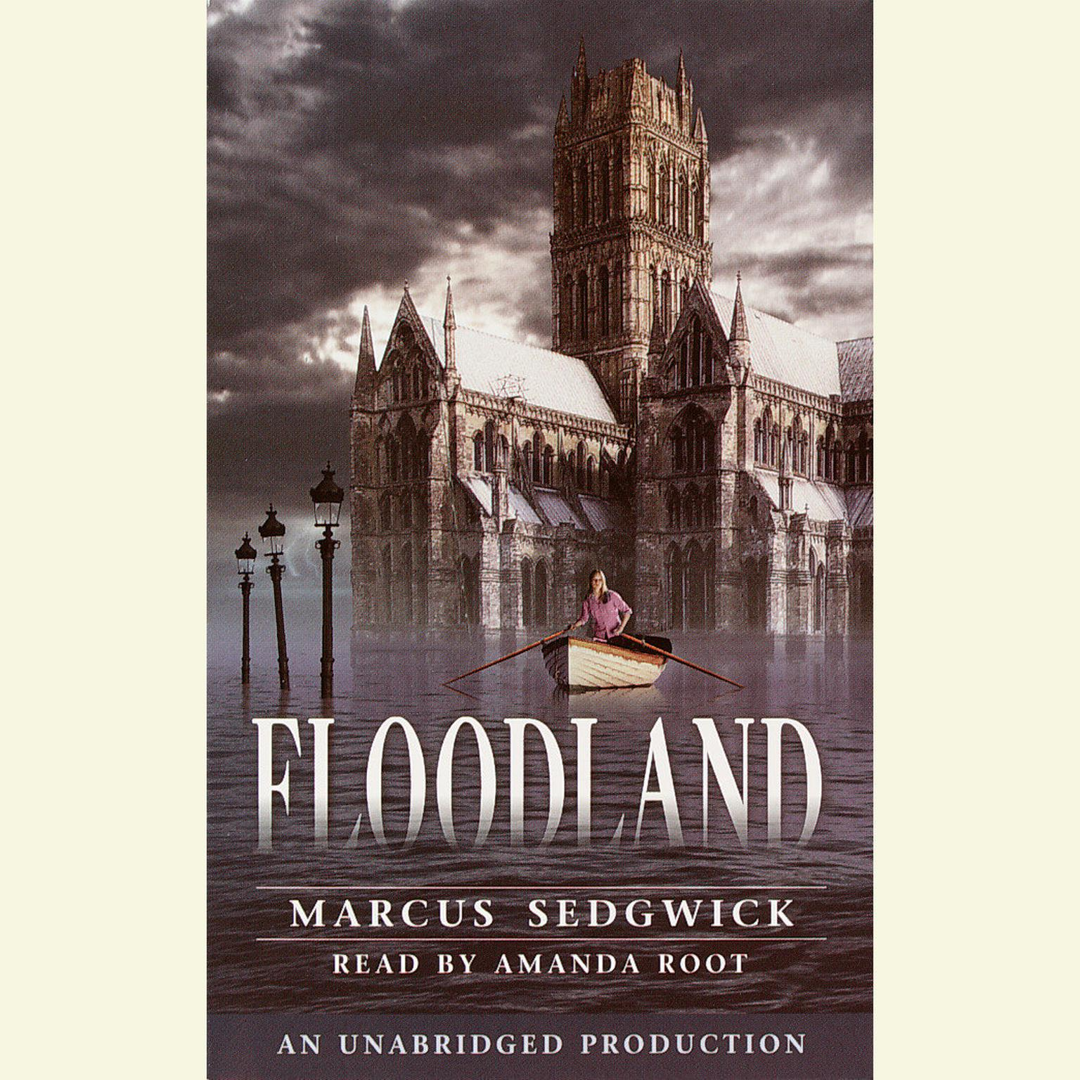 Printable Floodland Audiobook Cover Art
