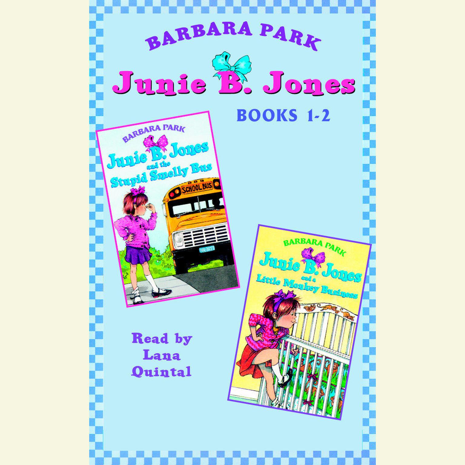 Printable Junie B. Jones: Books 1-2: Junie B. Jones #1 and #2 Audiobook Cover Art