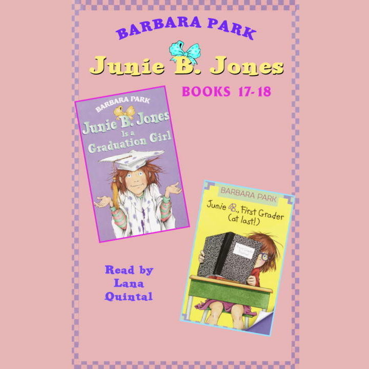 Printable Junie B. Jones: Books 17-18 Audiobook Cover Art