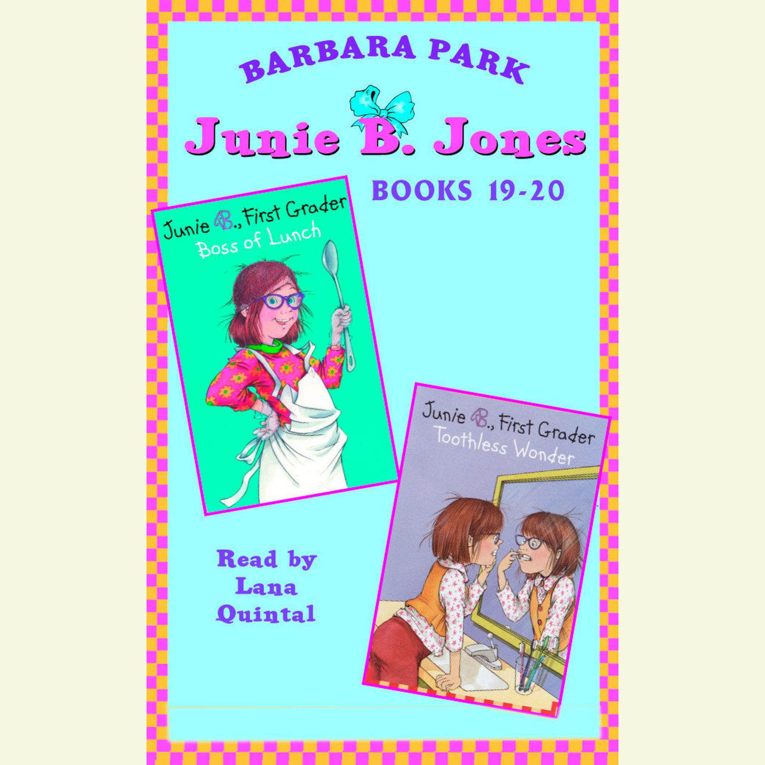 Printable Junie B. Jones: Books 19-20: Junie B. Jones #19 and #20 Audiobook Cover Art