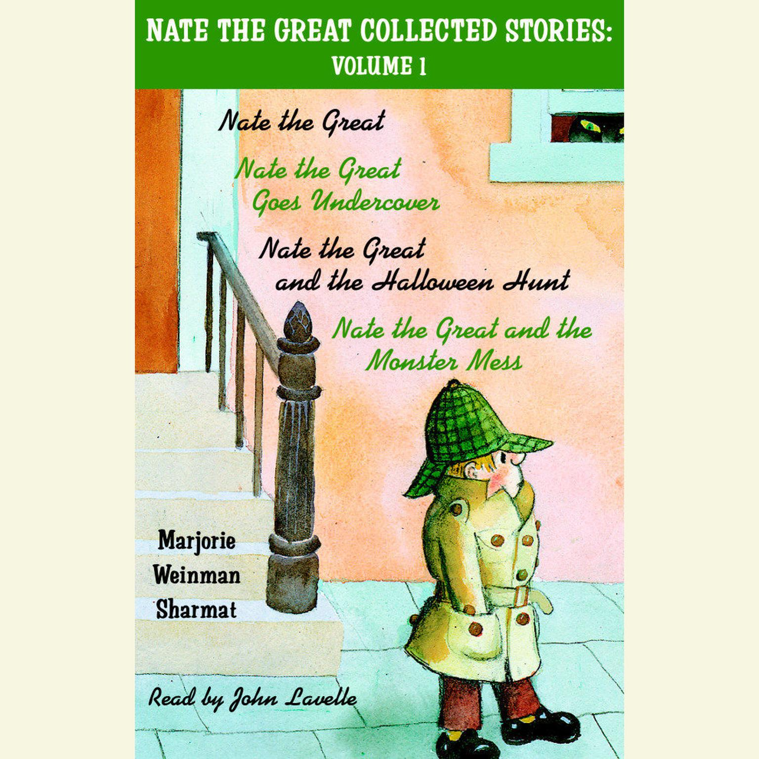 Printable Nate the Great Collected Stories: Volume 1 Audiobook Cover Art