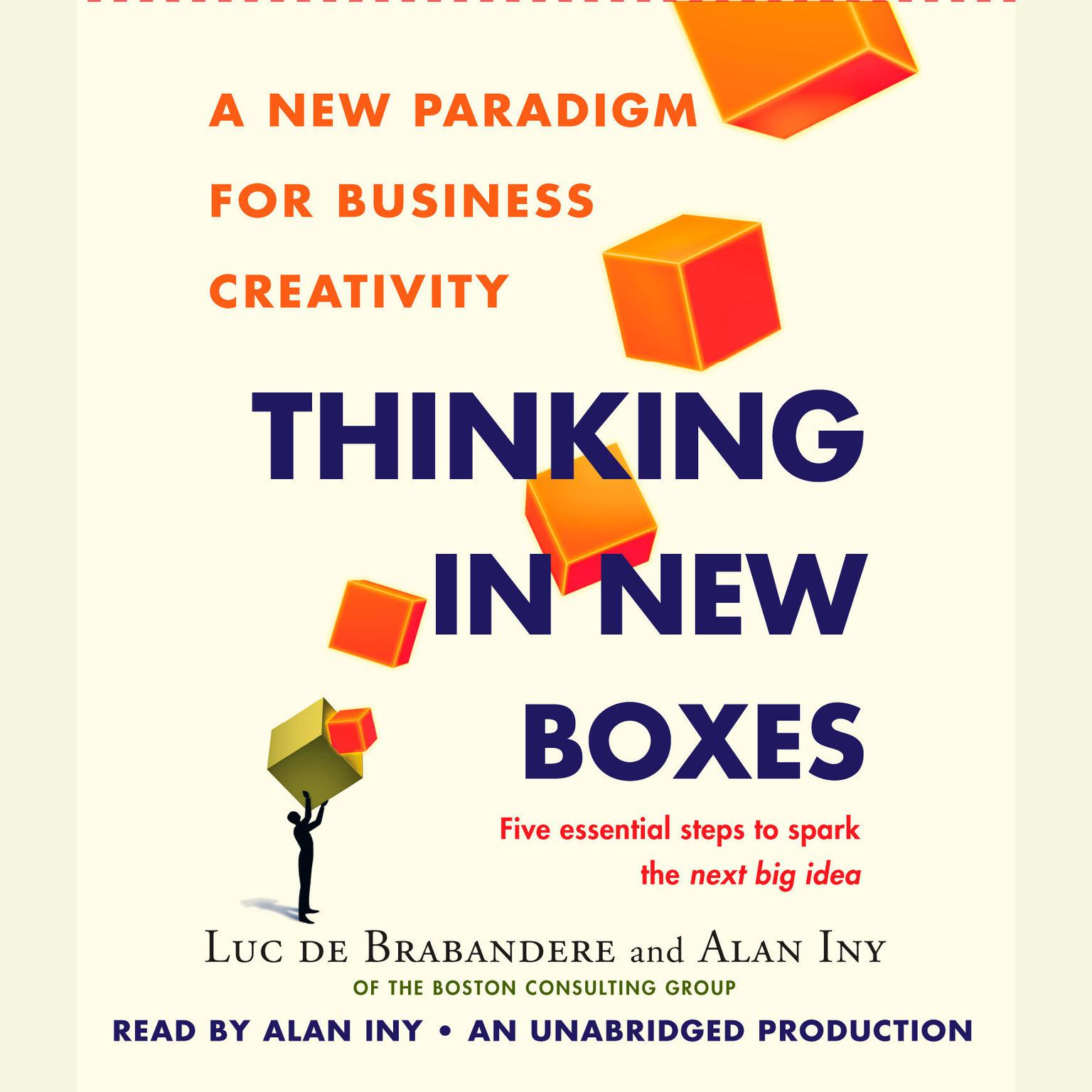 Printable Thinking in New Boxes: A New Paradigm for Business Creativity Audiobook Cover Art