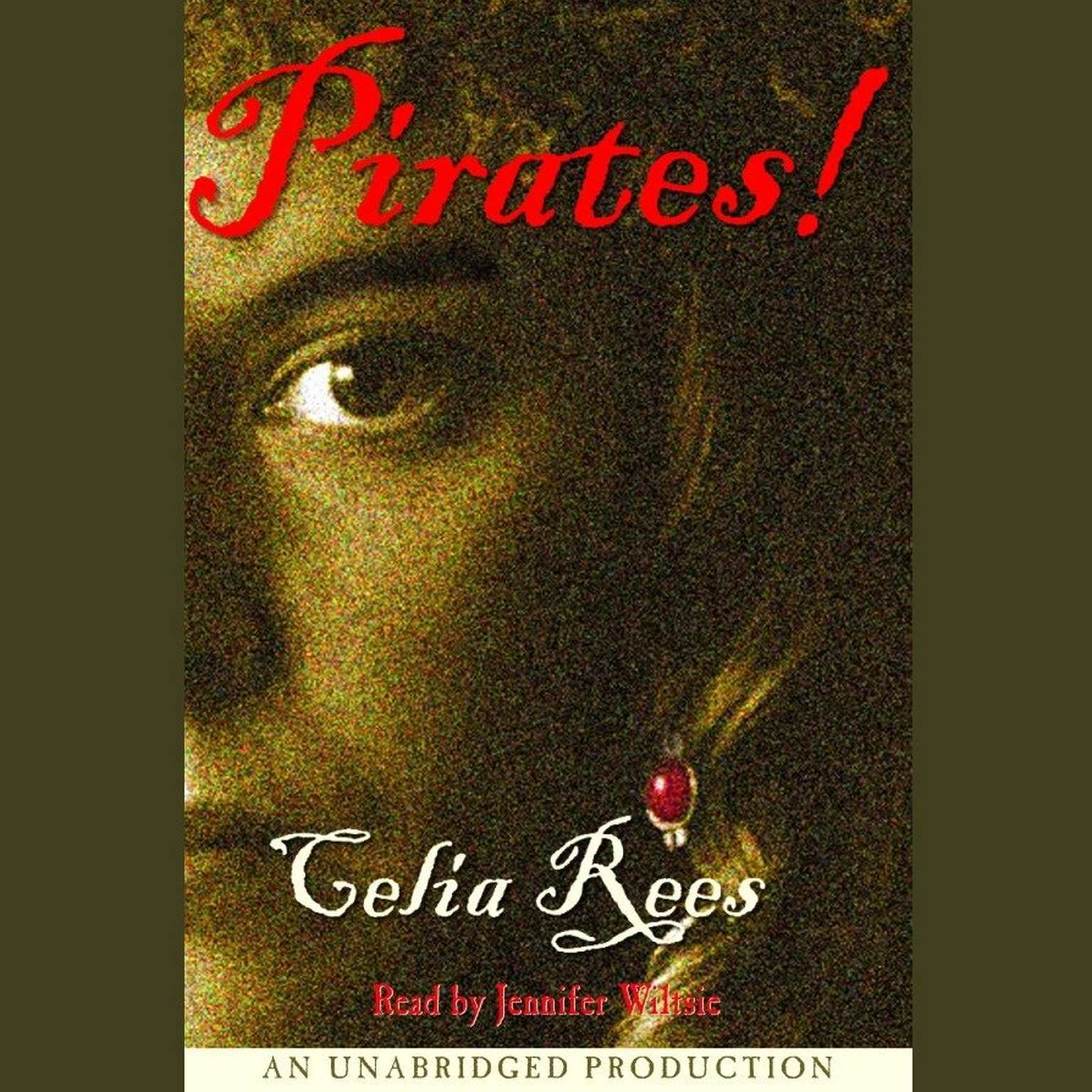 Printable Pirates! Audiobook Cover Art