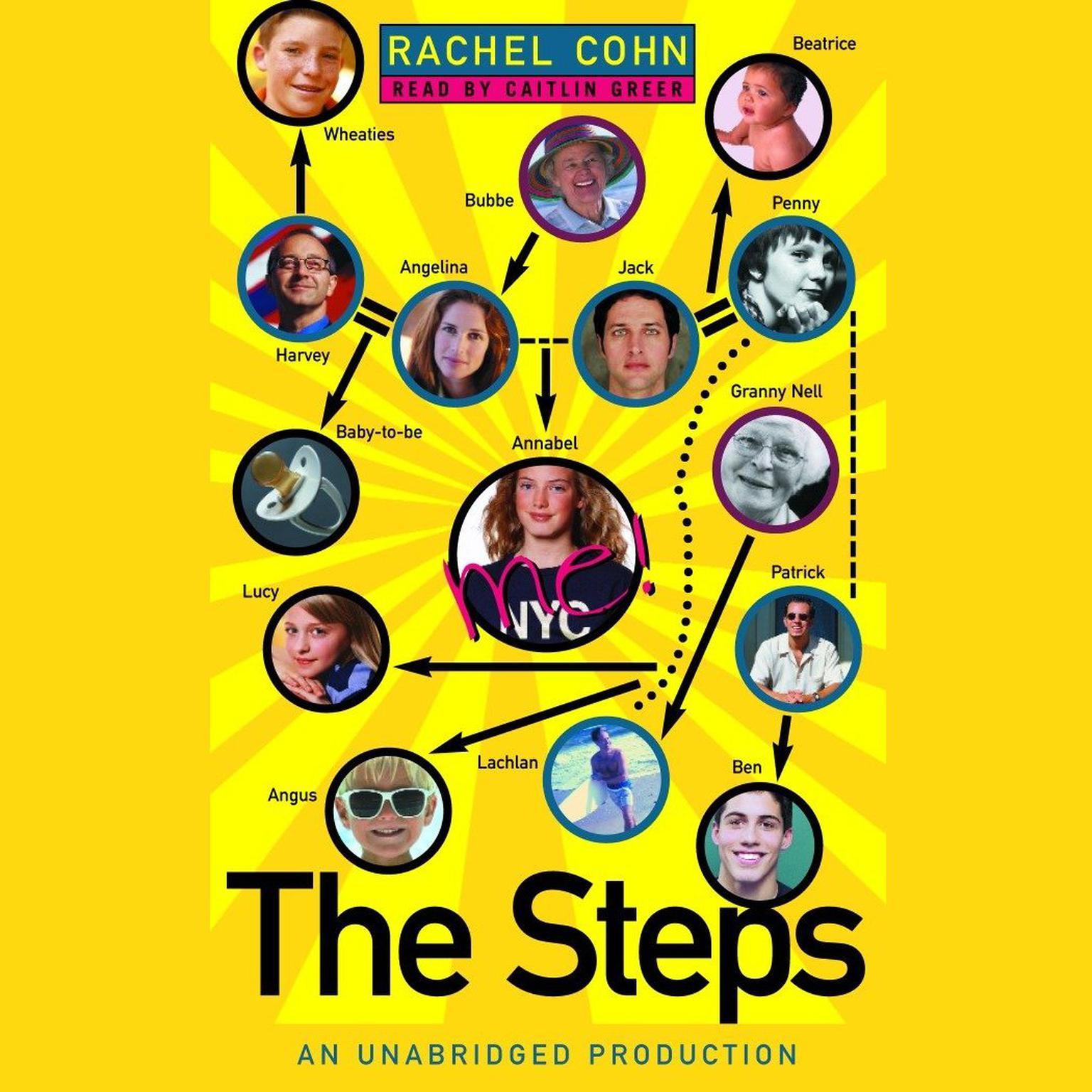 Printable The Steps Audiobook Cover Art