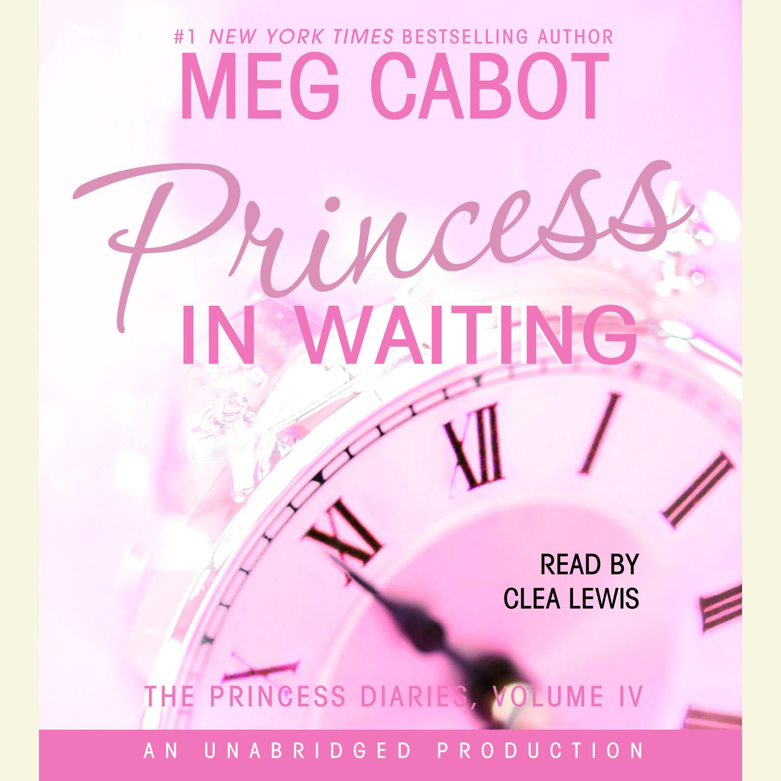 Printable The Princess Diaries, Volume IV: Princess in Waiting Audiobook Cover Art