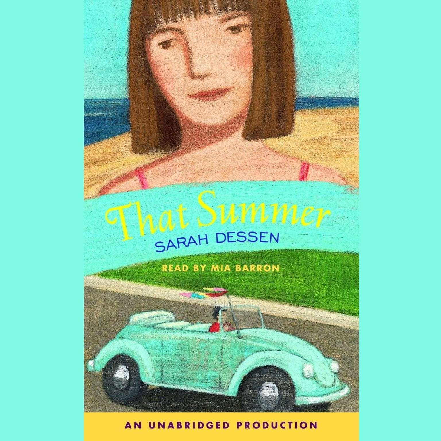 Printable That Summer Audiobook Cover Art