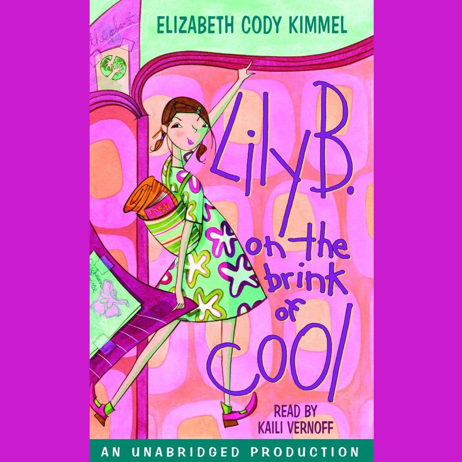 Printable Lily B. on the brink of cool Audiobook Cover Art