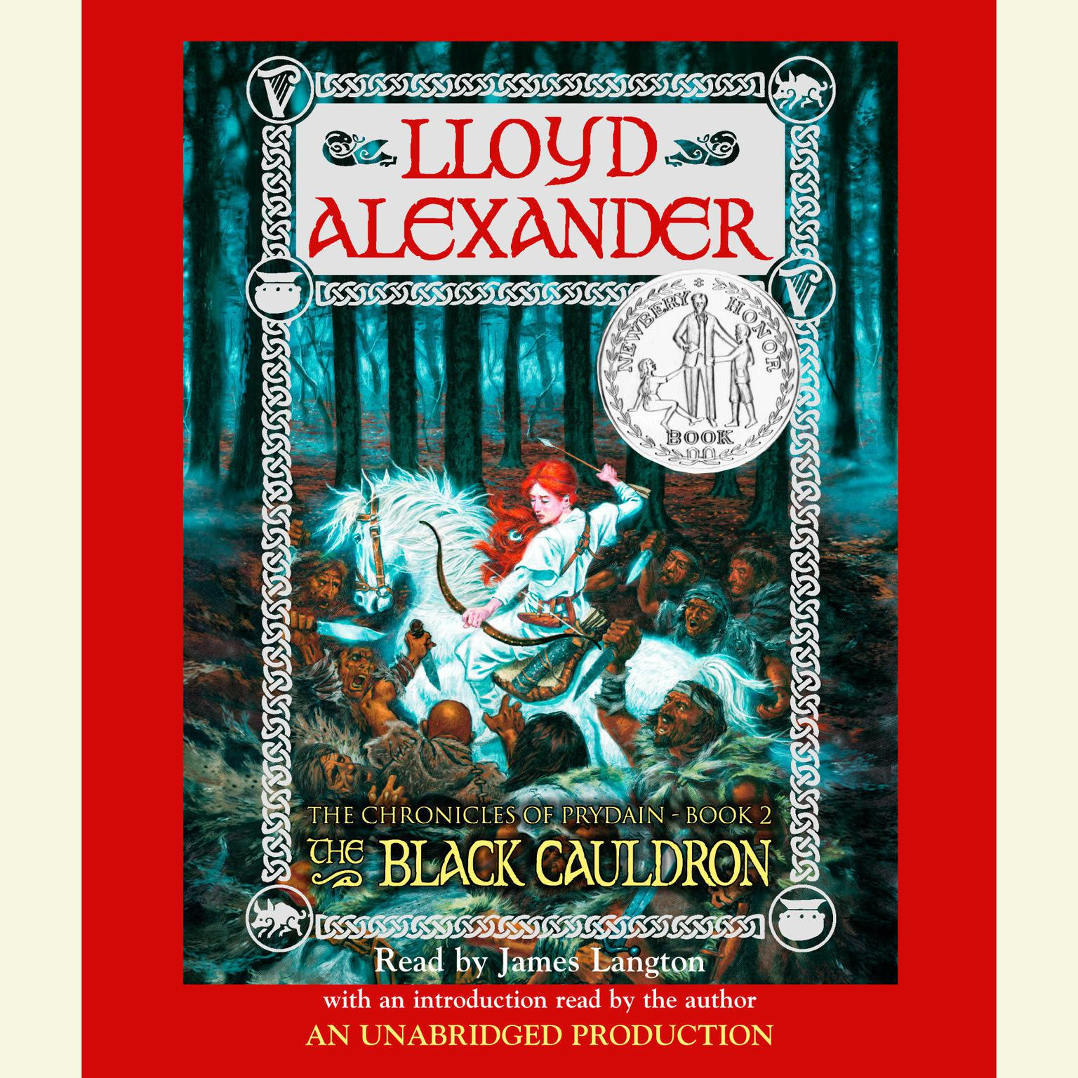 Printable The Prydain Chronicles Book Two: The Black Cauldron Audiobook Cover Art
