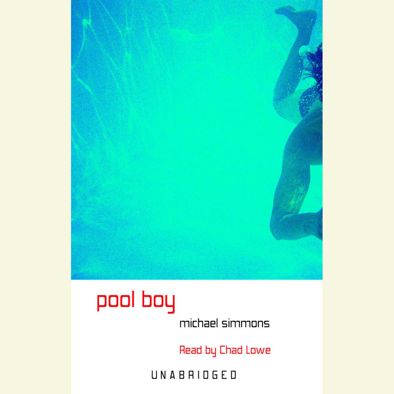 Printable Pool Boy Audiobook Cover Art