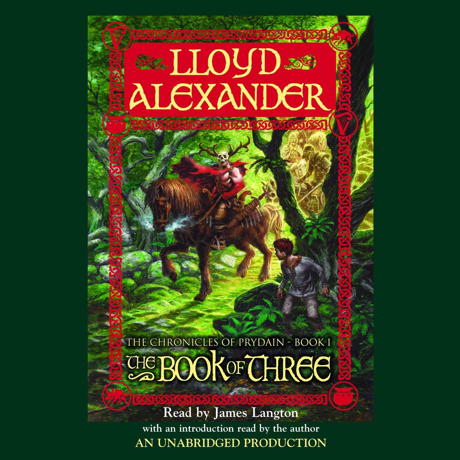 Printable The Prydain Chronicles Book One: The Book of Three Audiobook Cover Art