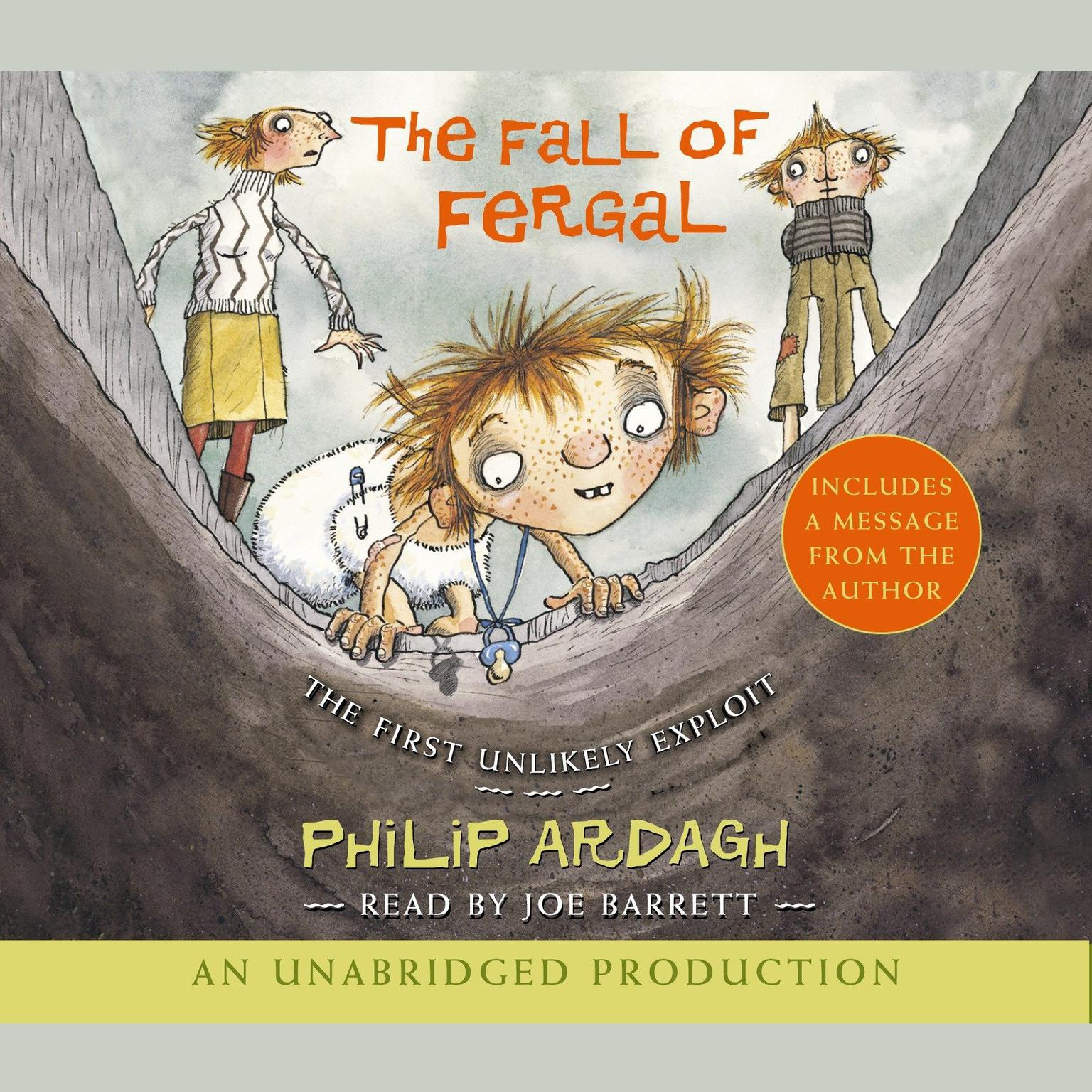 Printable The Fall of Fergal: The First Unlikely Exploit Audiobook Cover Art