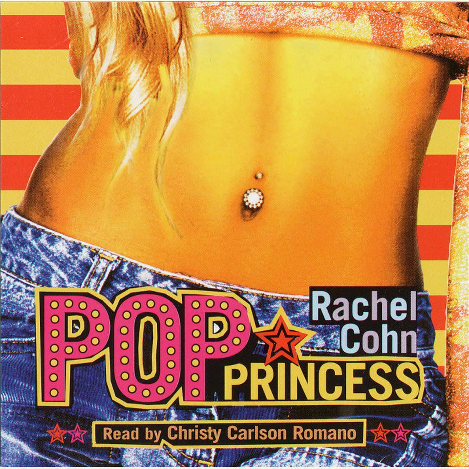 Printable Pop Princess Audiobook Cover Art