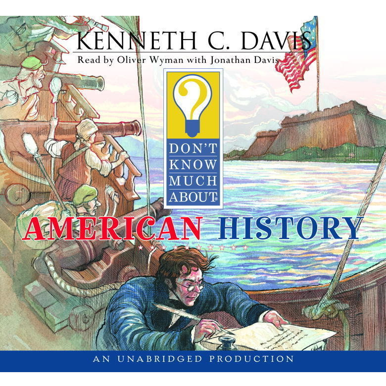 Printable Don't Know Much About American History Audiobook Cover Art