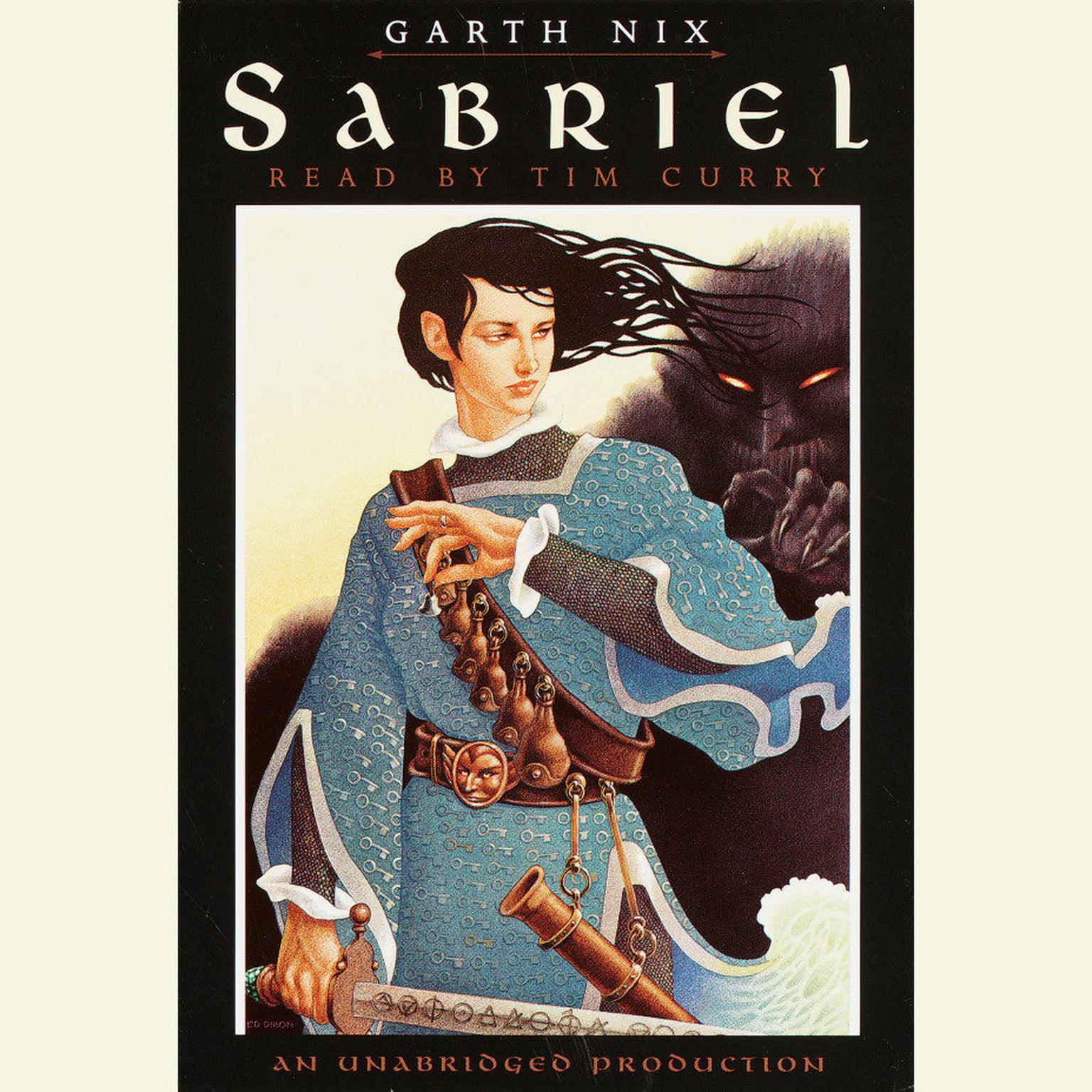 Printable Sabriel Audiobook Cover Art