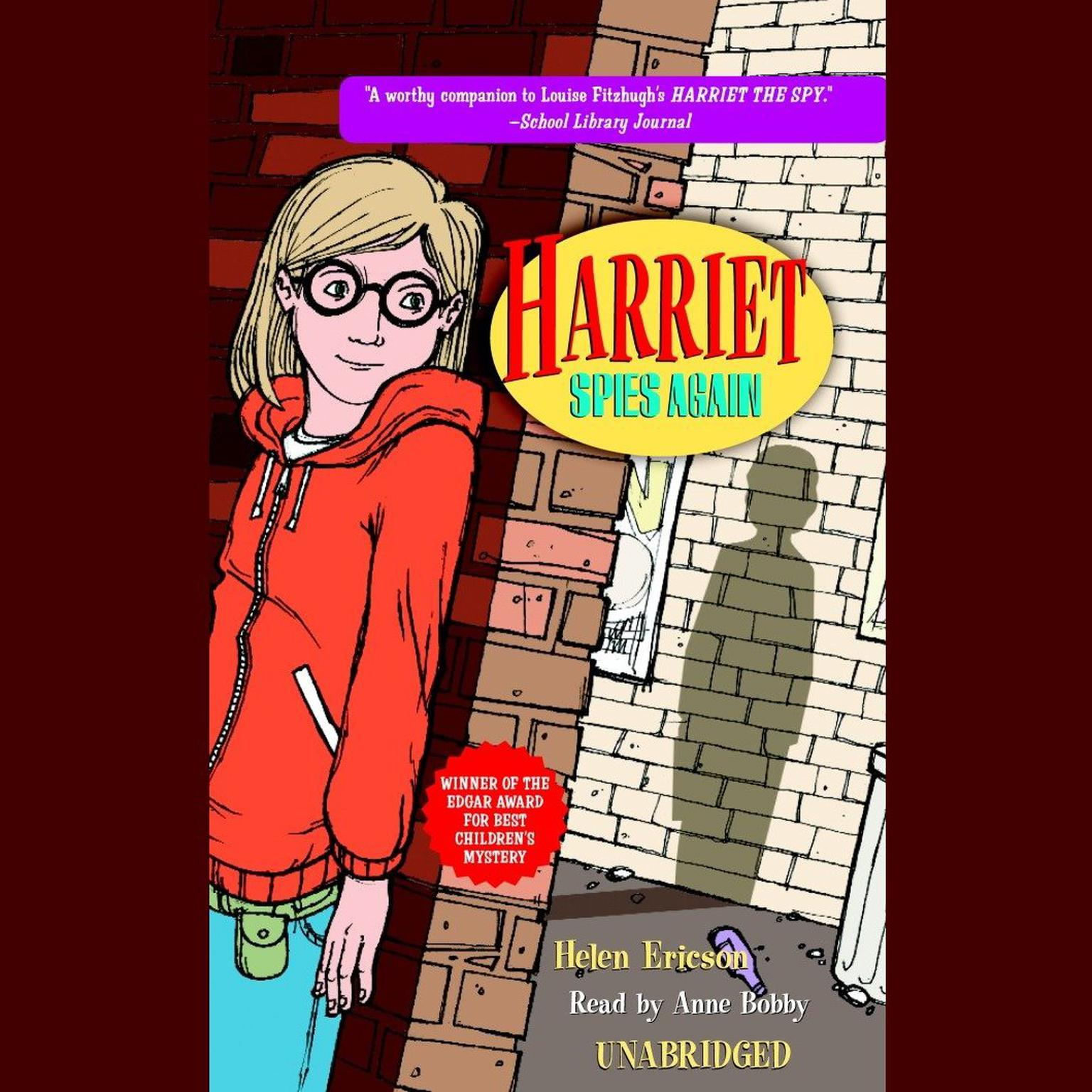 Printable Harriet Spies Again Audiobook Cover Art