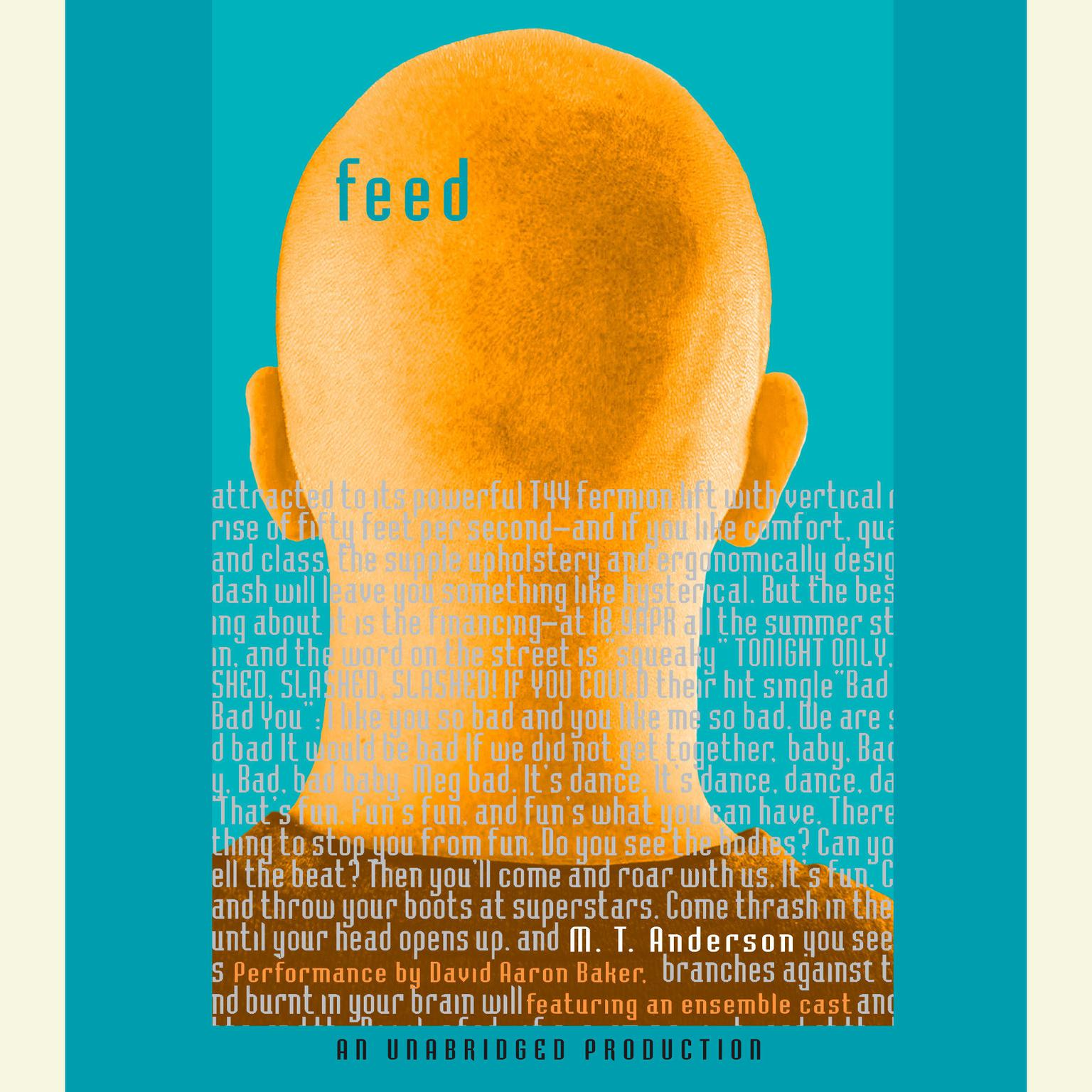 Printable Feed Audiobook Cover Art