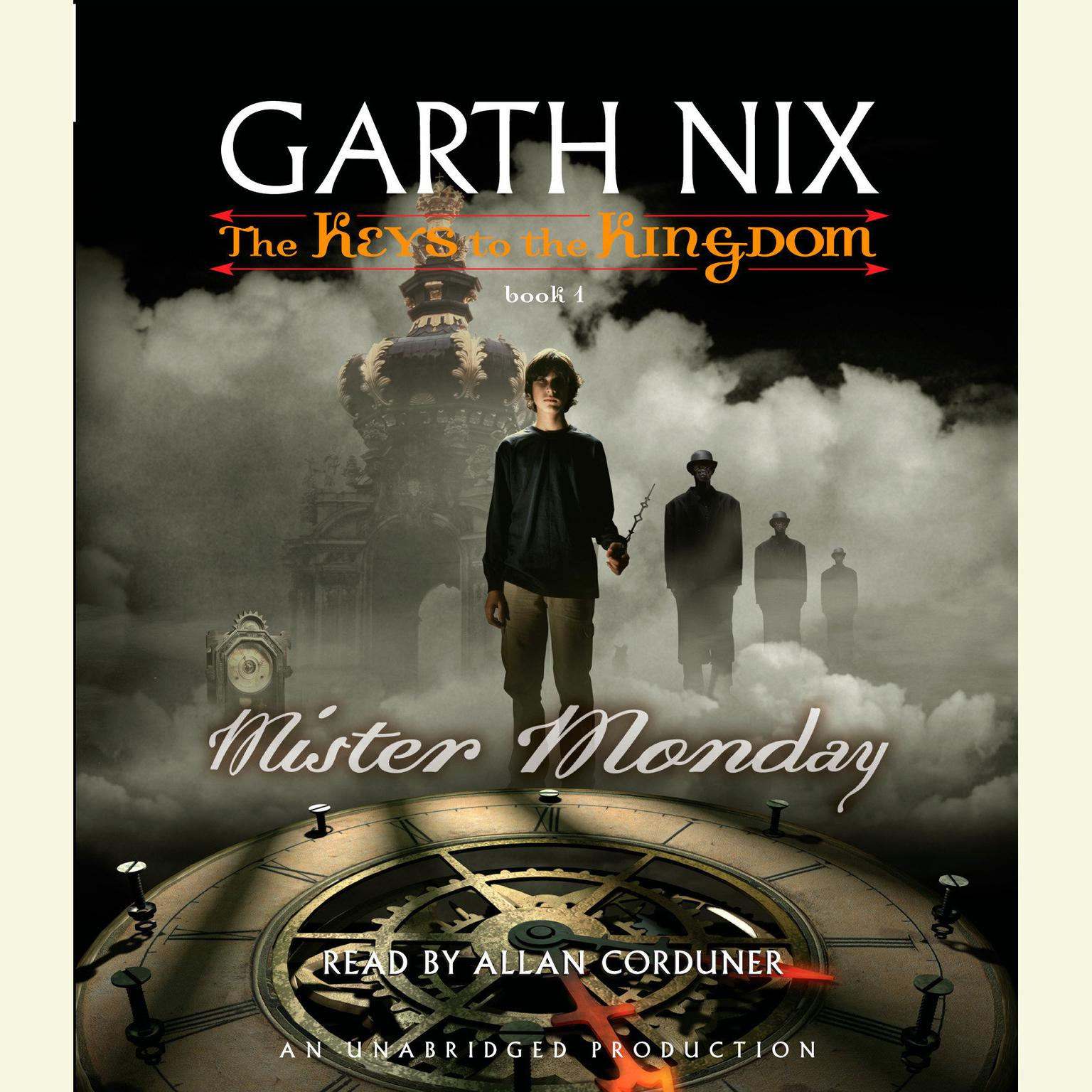 Printable Mister Monday Audiobook Cover Art